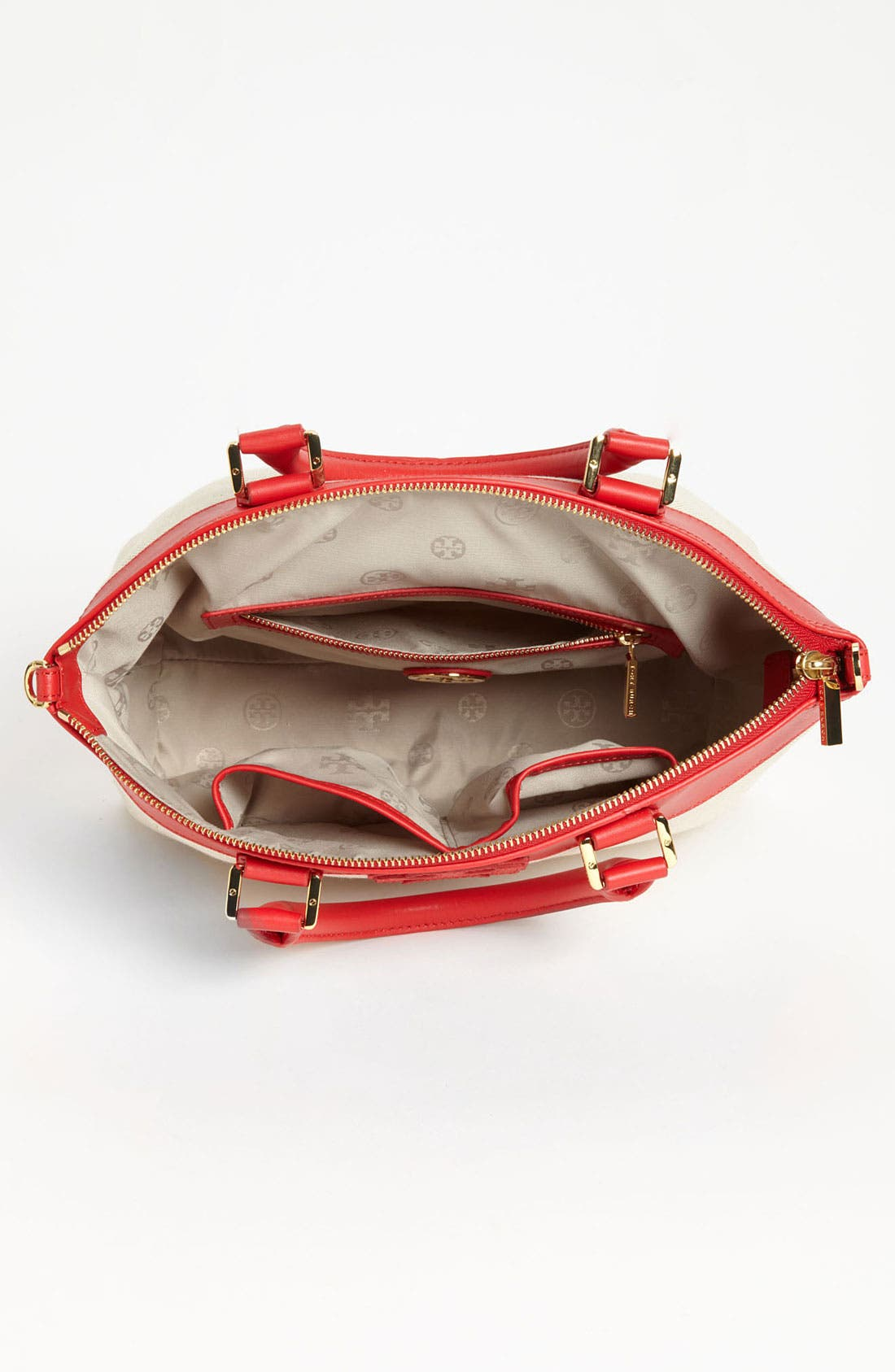 Alternate Image 3  - Tory Burch 'Stacked T - Small' Satchel