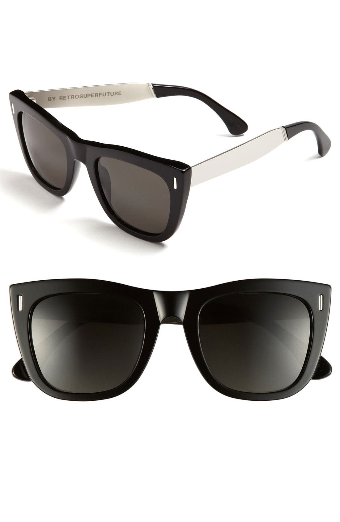 Main Image - SUPER by RETROSUPERFUTURE® 'Gals Francis' Oversized Sunglasses