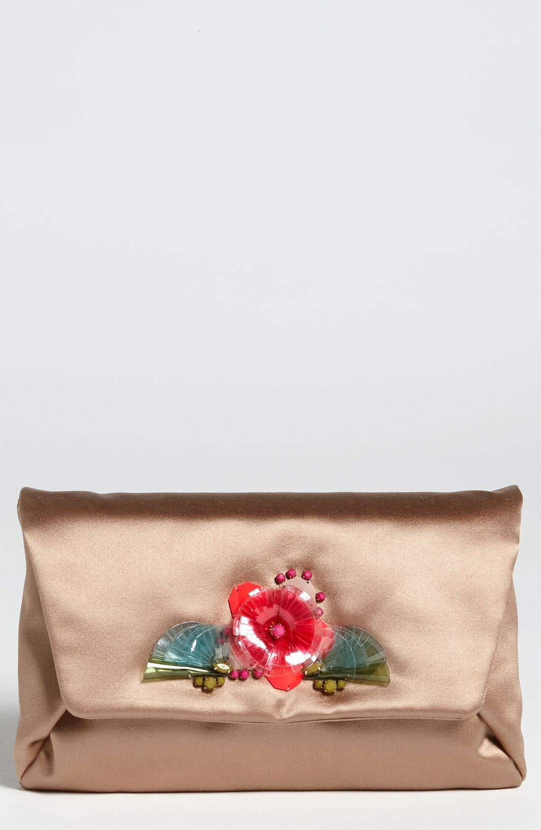 Main Image - Lanvin Embroidered Evening Clutch