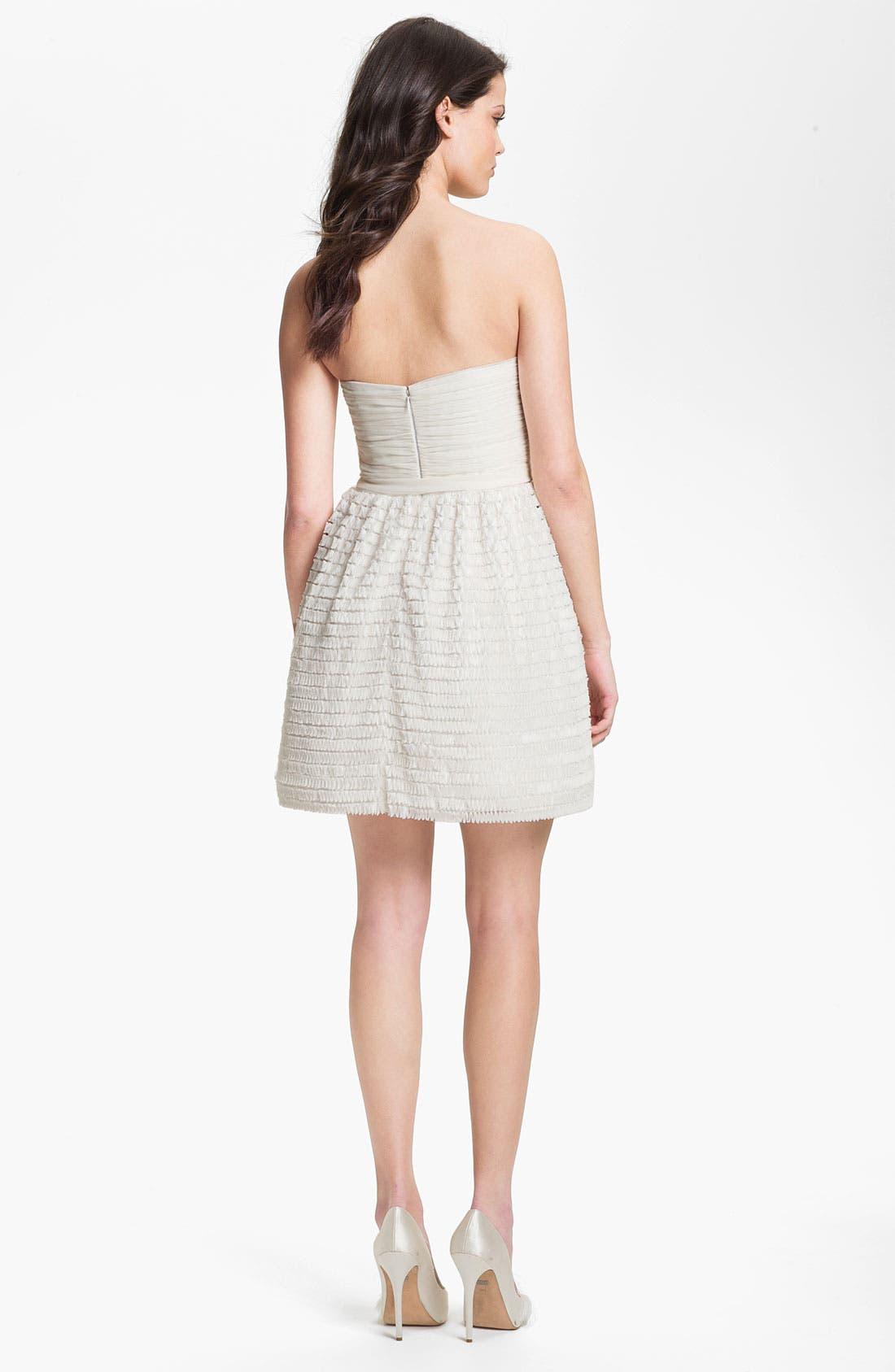 Alternate Image 2  - Jill Jill Stuart Ruffled Chiffon Fit & Flare Dress