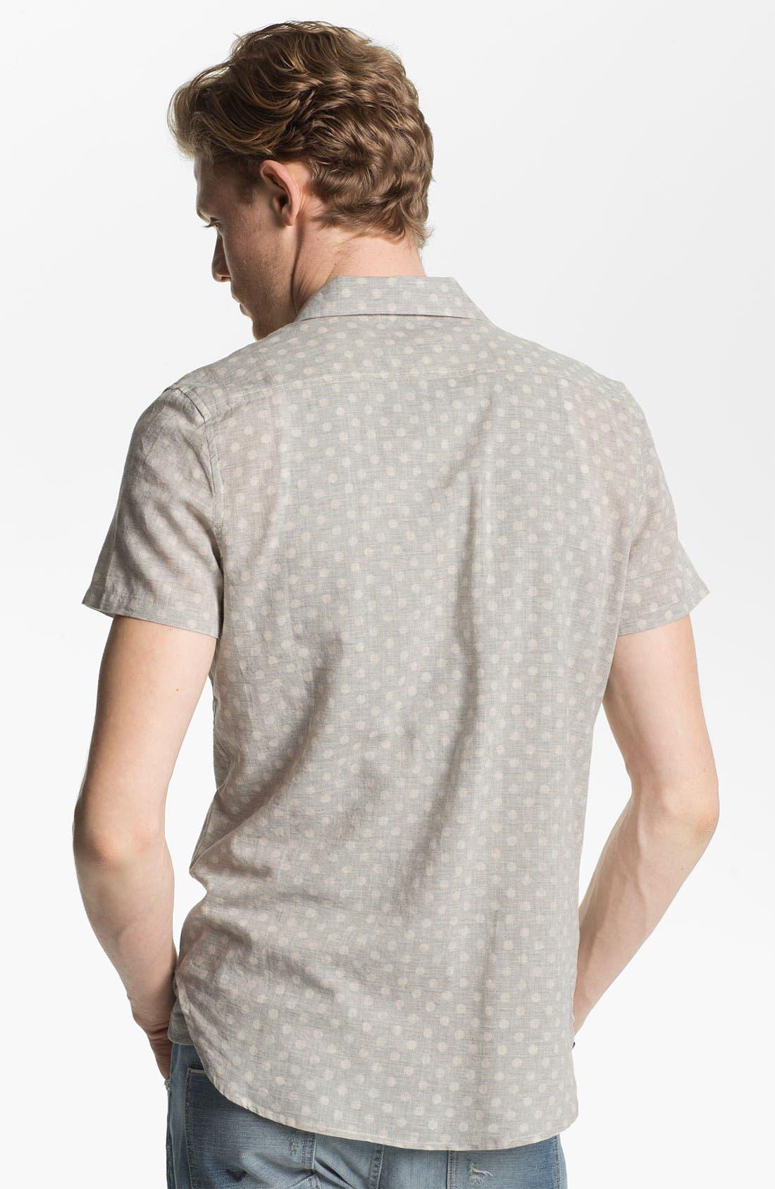 Alternate Image 2  - Deus Ex Machina 'Billy' Dot Patterned Woven Shirt