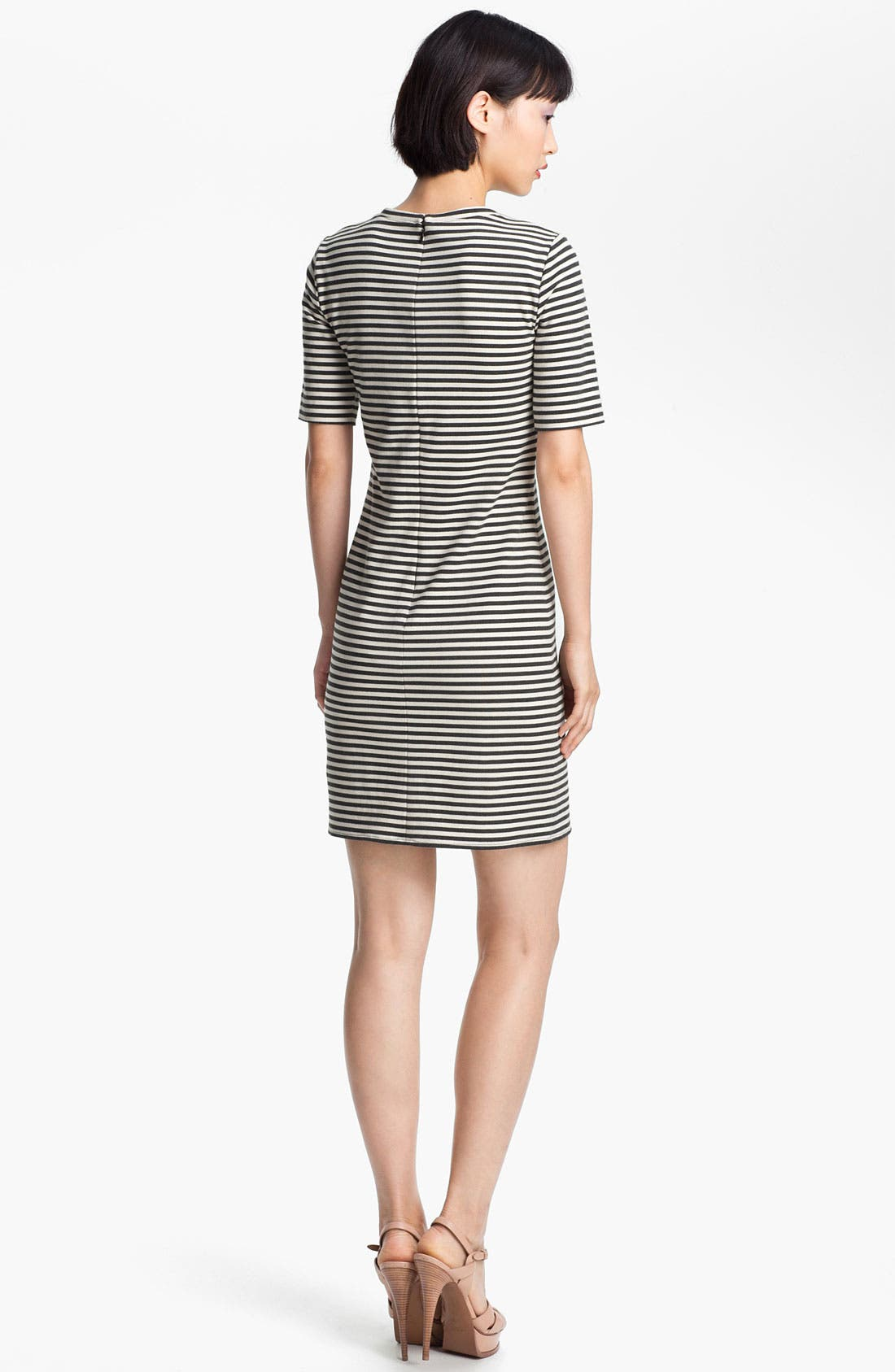 Alternate Image 2  - Tibi Stripe Jersey Dress