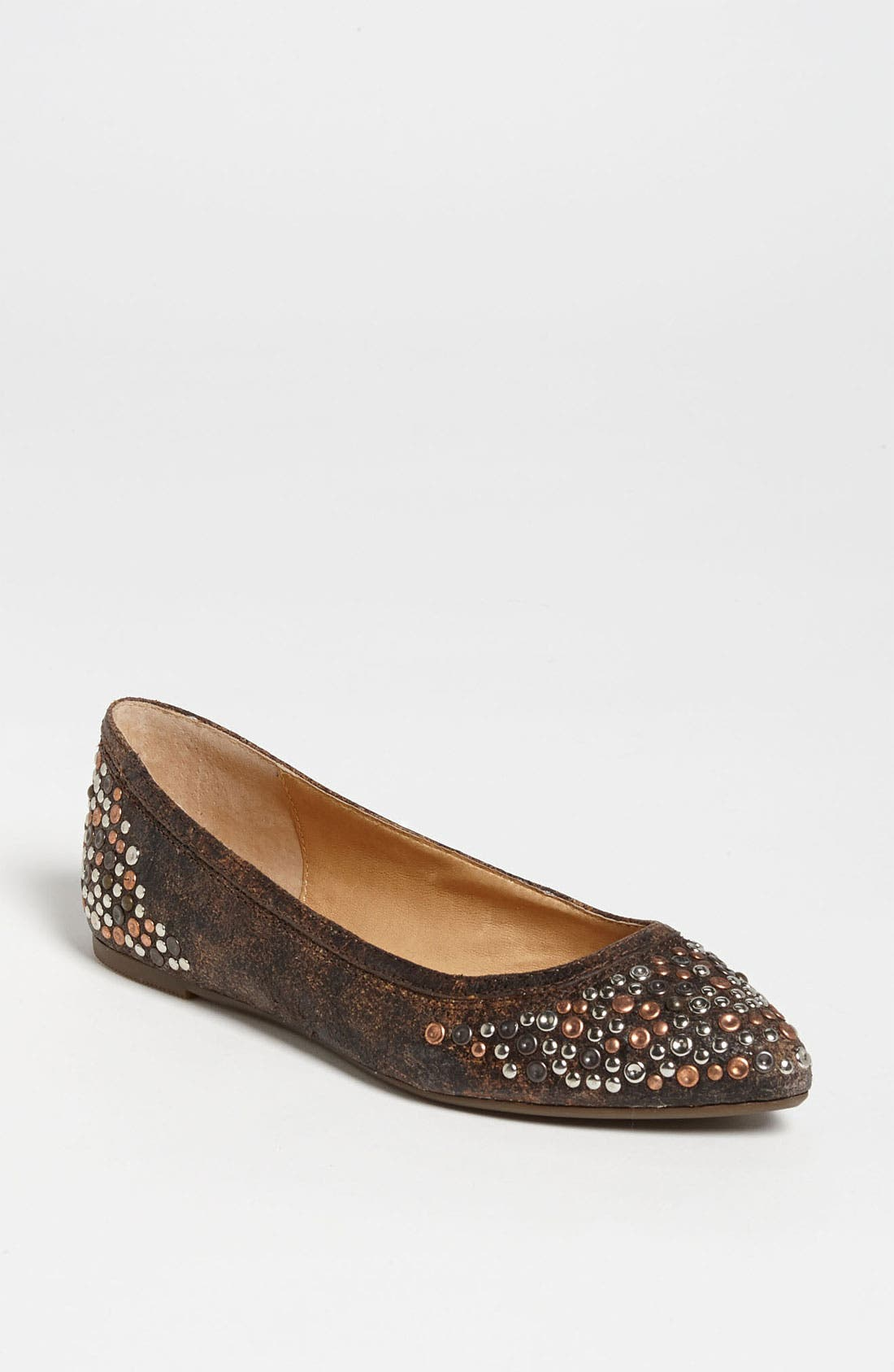 Alternate Image 1 Selected - Frye 'Regina' Studded Flat