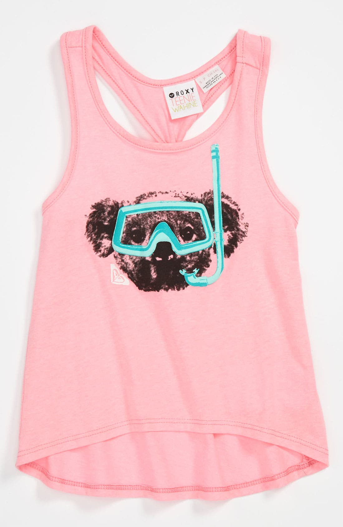 Main Image - 'Alamo Freeze' Racerback Tank Top (Little Girls)