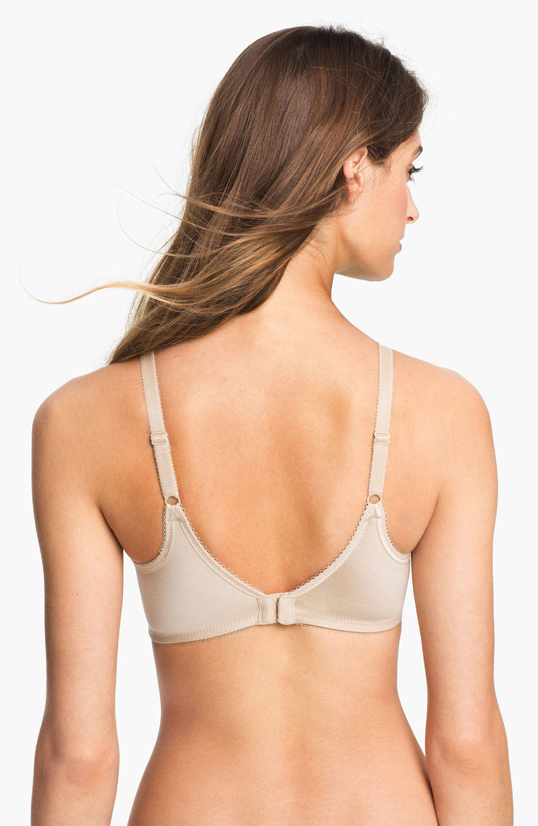 Basic Beauty Soft Cup Bra,                             Alternate thumbnail 2, color,                             Naturally Nude
