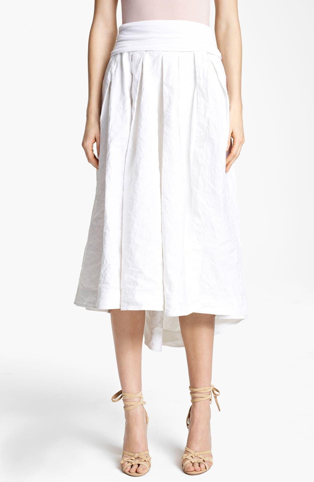Alternate Image 1 Selected - Donna Karan Collection Parachute Cotton Skirt