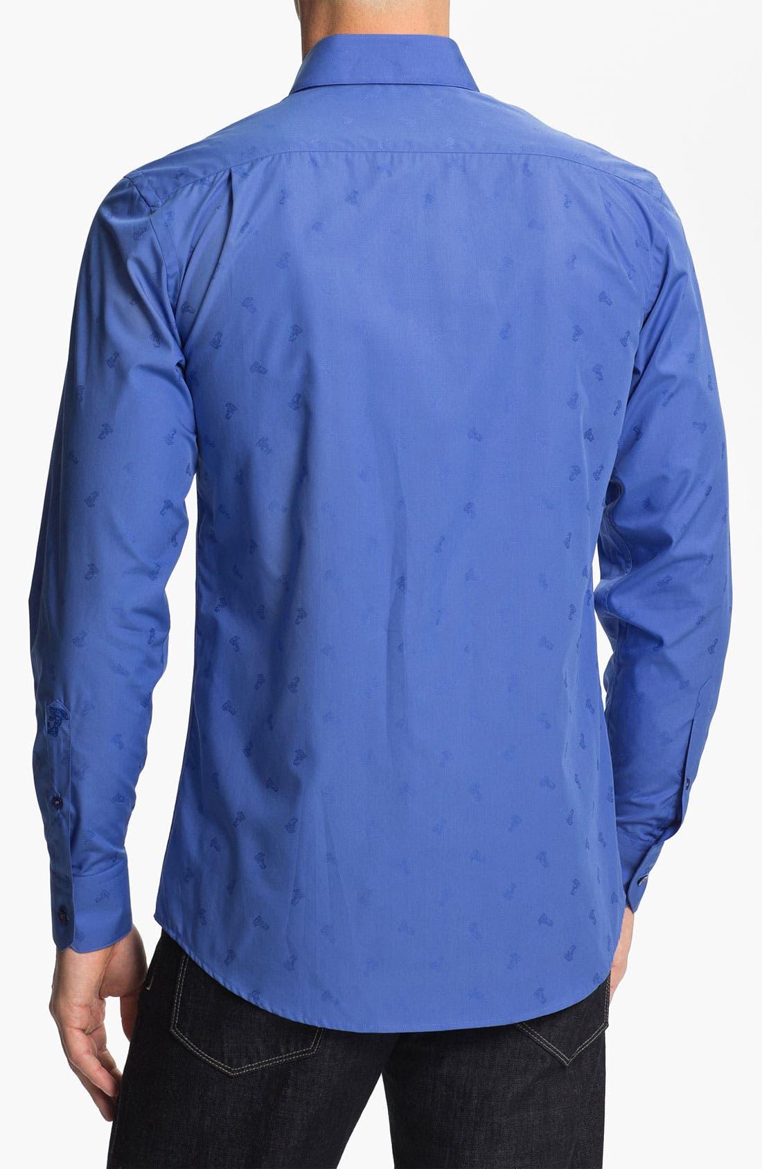 Alternate Image 2  - Versace Woven Sport Shirt (Online Only)
