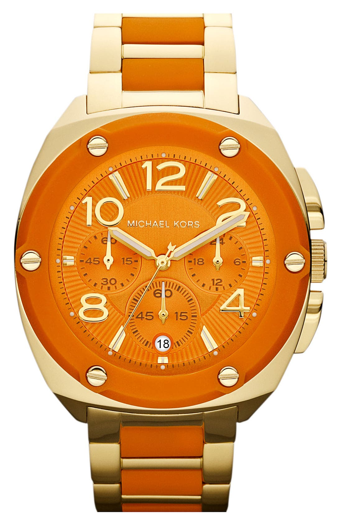Alternate Image 1 Selected - Michael Kors 'Tribeca' Chronograph Bracelet Watch, 43mm