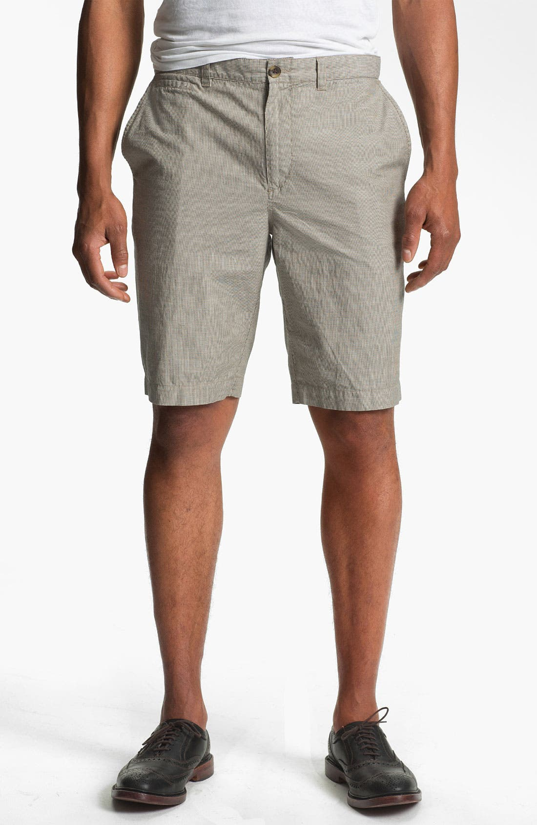 Alternate Image 1 Selected - Wallin & Bros. 'Lanspur' Flat Front Shorts