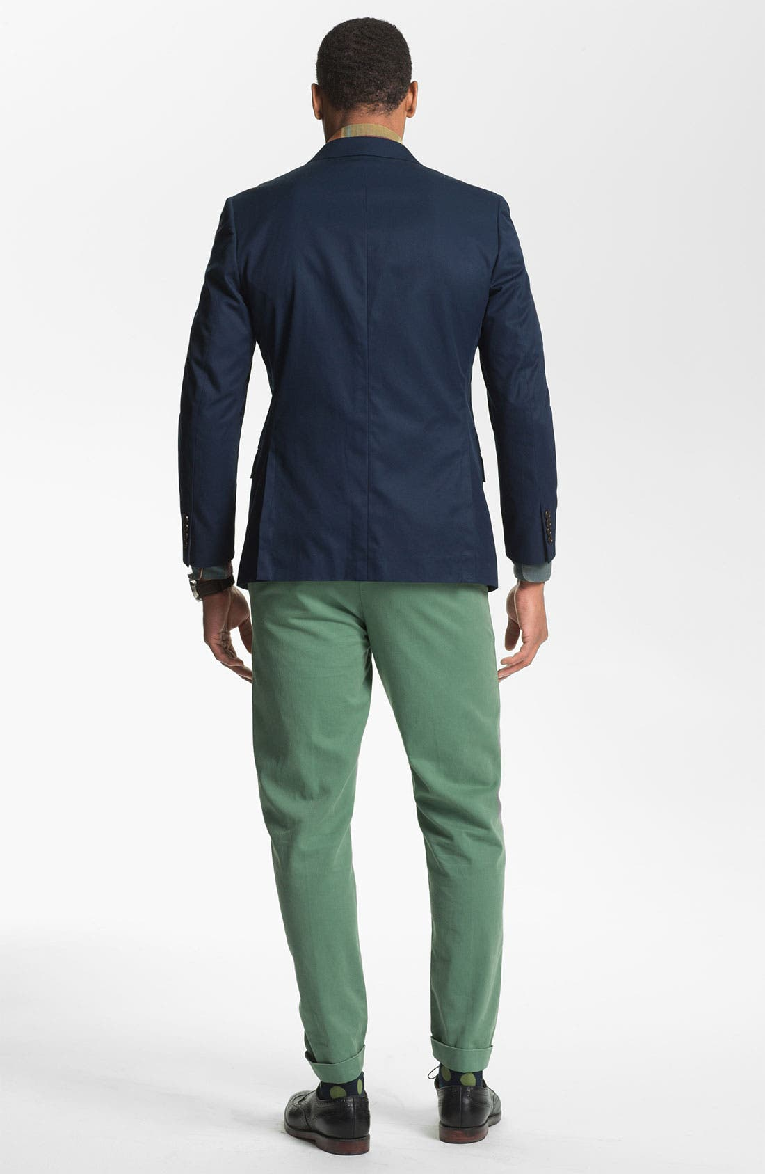 Alternate Image 5  - Levi's® Made & Crafted™ 'Drill' Cotton Chinos