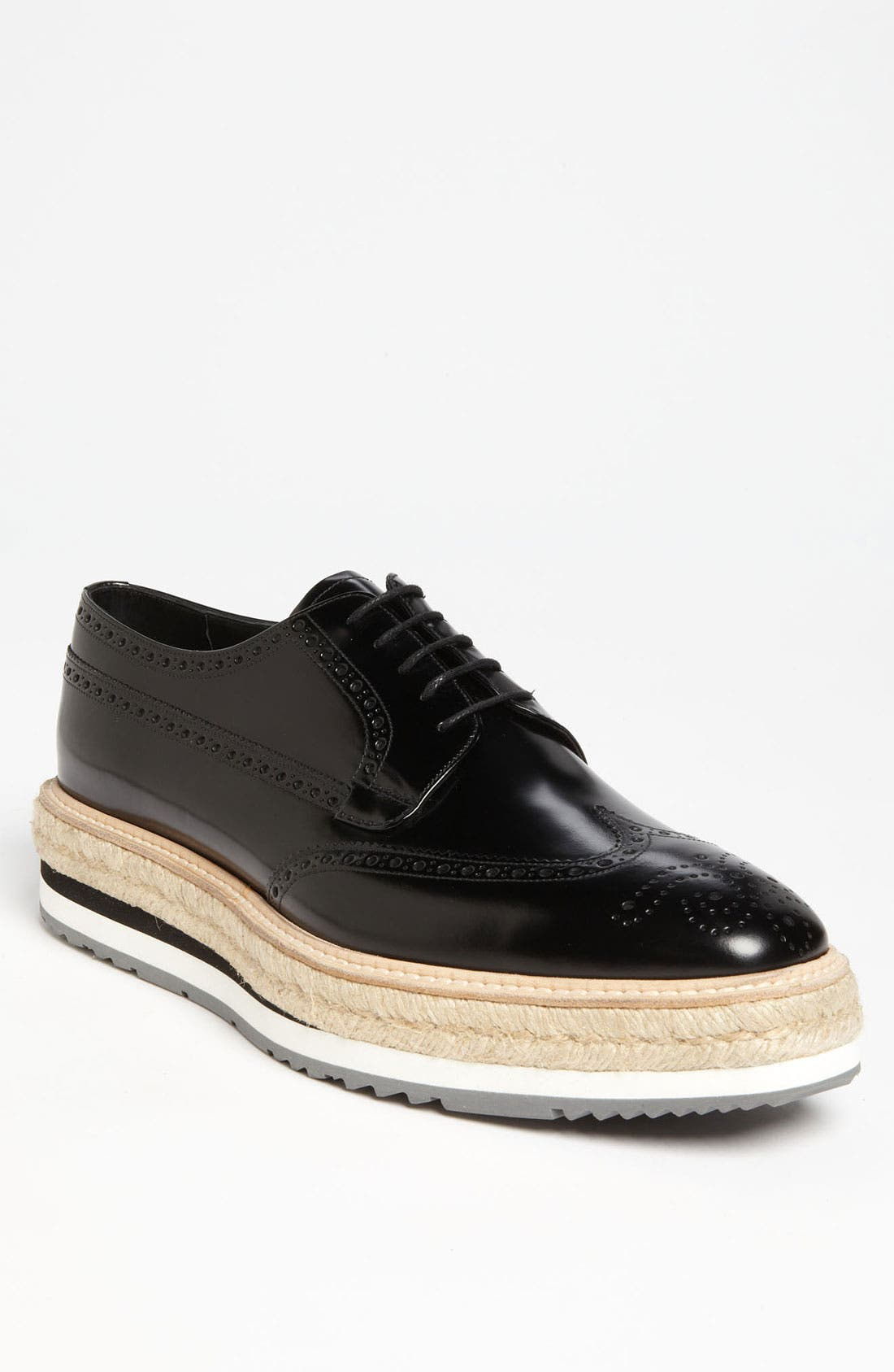 Alternate Image 1 Selected - Prada Triple Sole Wingtip