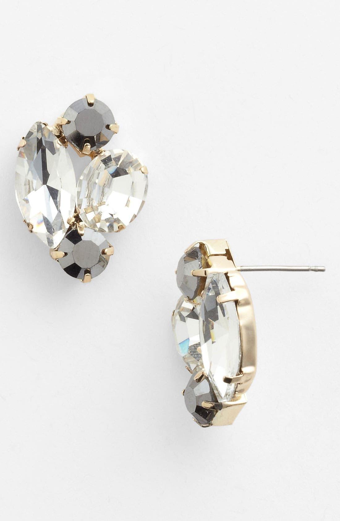 Alternate Image 1 Selected - Stephan & Co. Rhinestone Stud Earrings