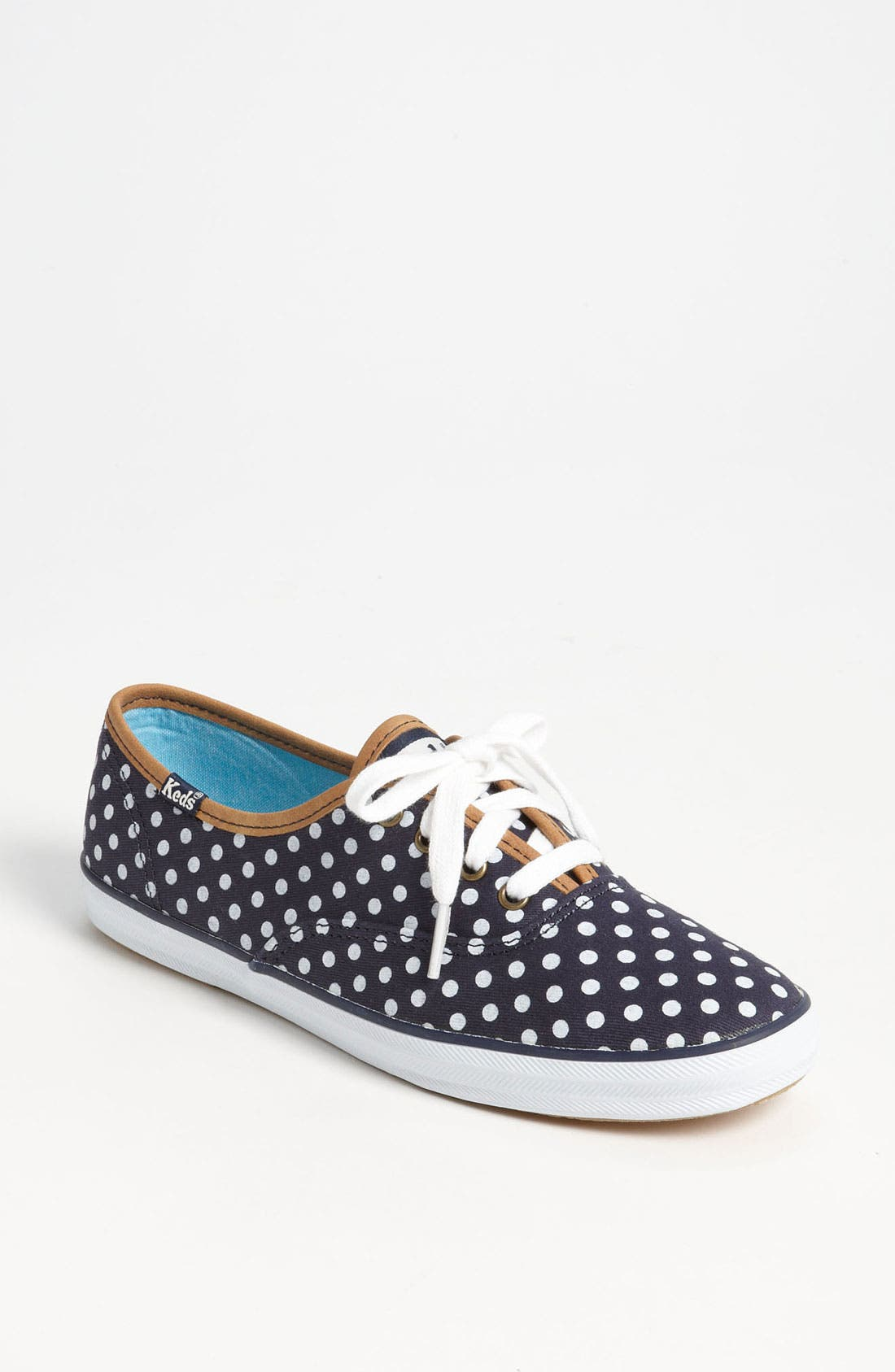 'Champion - Dot' Sneaker,                         Main,                         color, Navy/ White