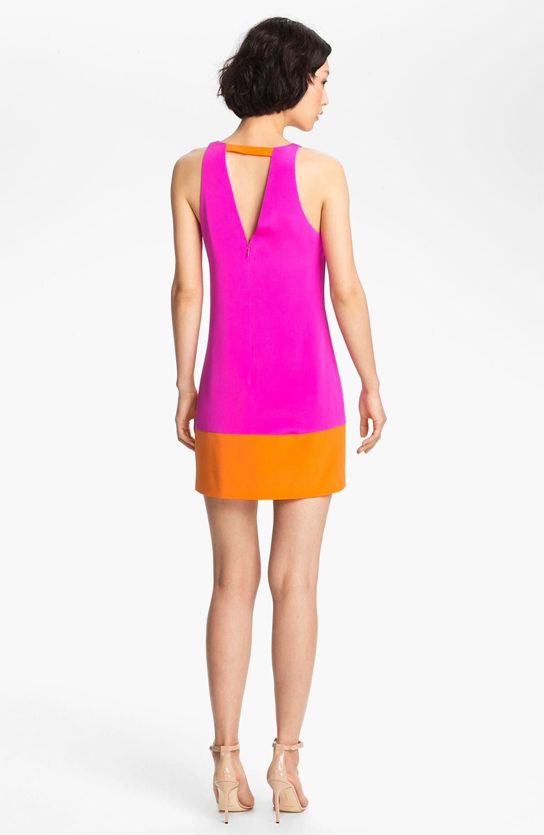 Alternate Image 2  - Jay Godfrey 'Aspin' Colorblock Silk Shift Dress
