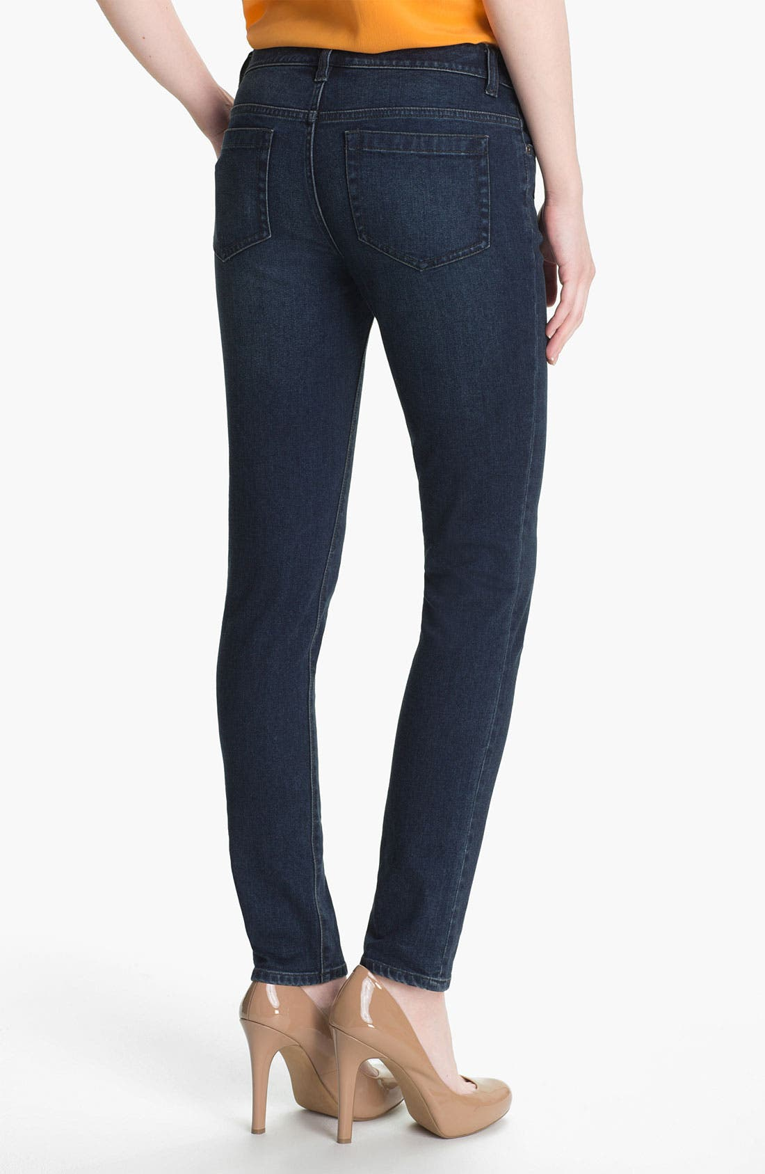 Alternate Image 2  - Two by Vince Camuto Straight Leg Jeans (Dark Rinse)