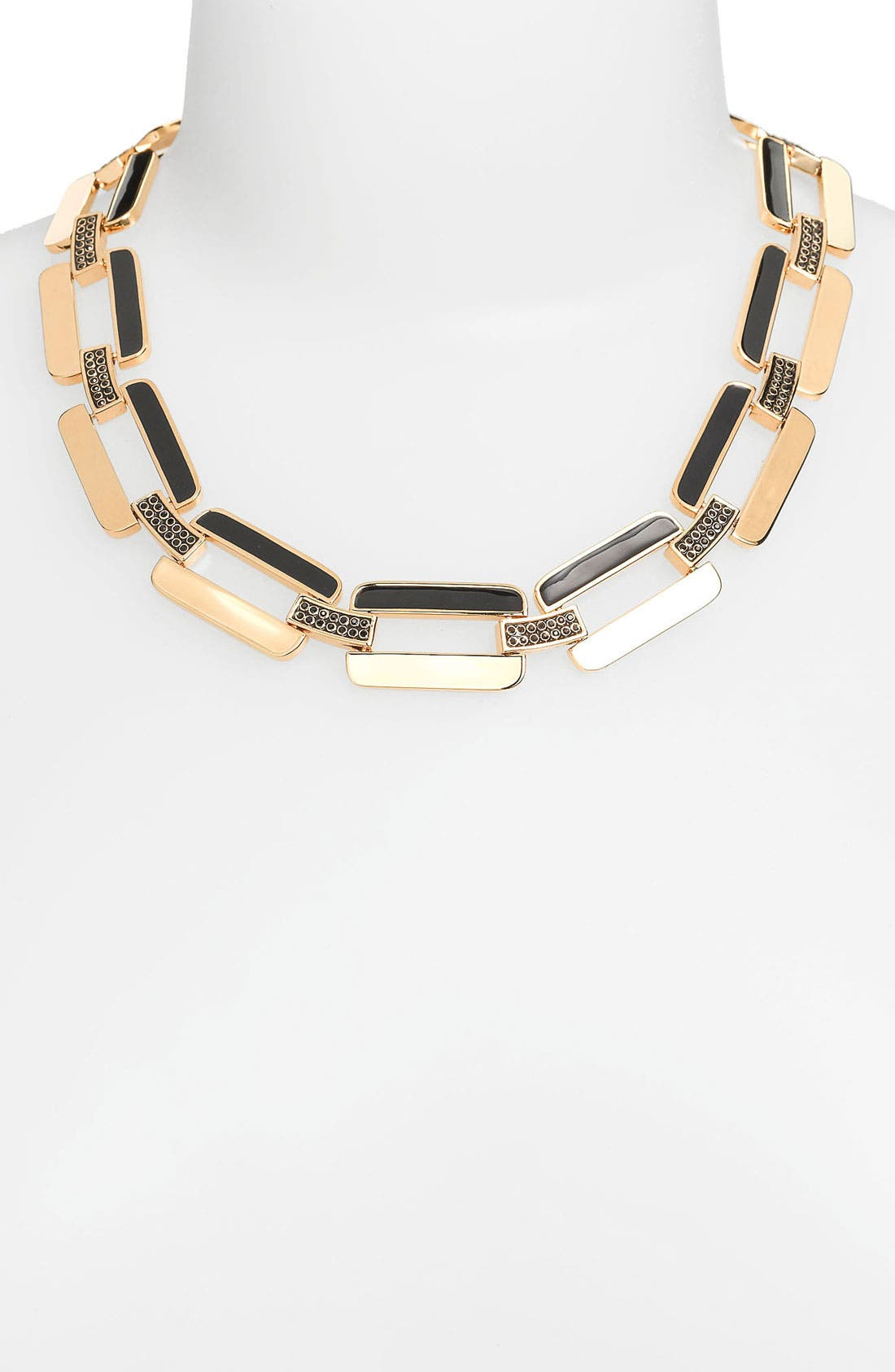 Alternate Image 1 Selected - St. John Collection Square Chain Necklace