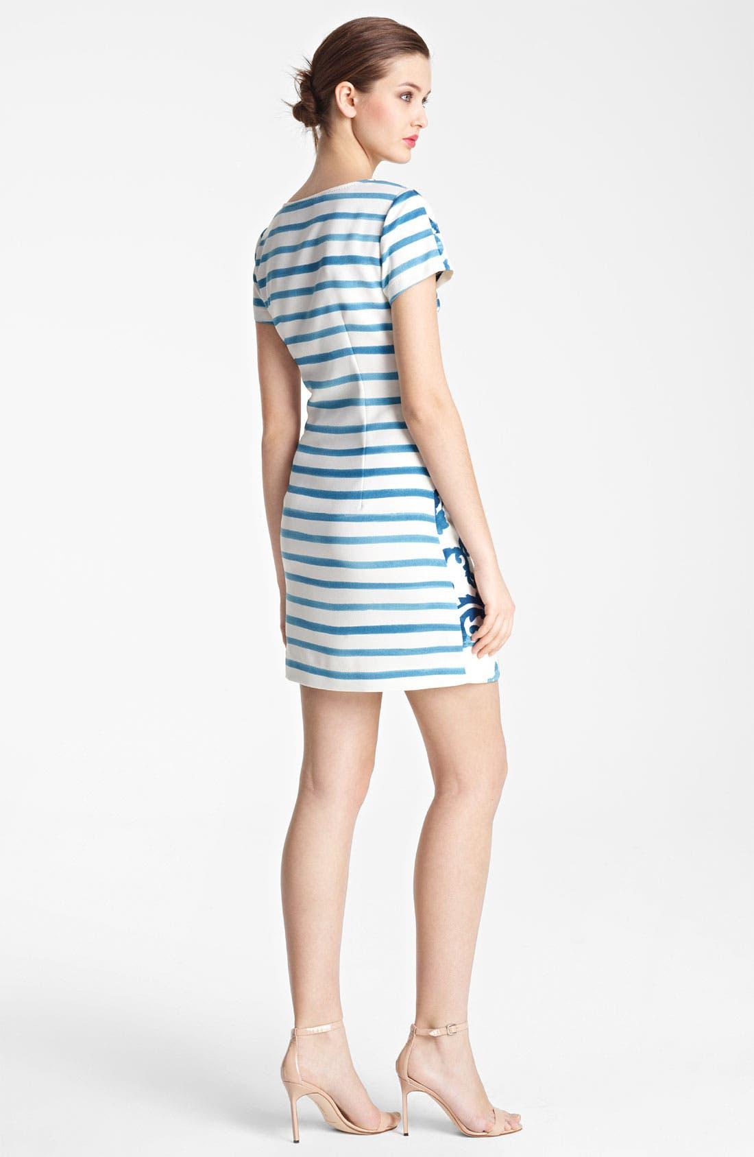 Alternate Image 2  - Moschino Cheap & Chic Mix Print Dress