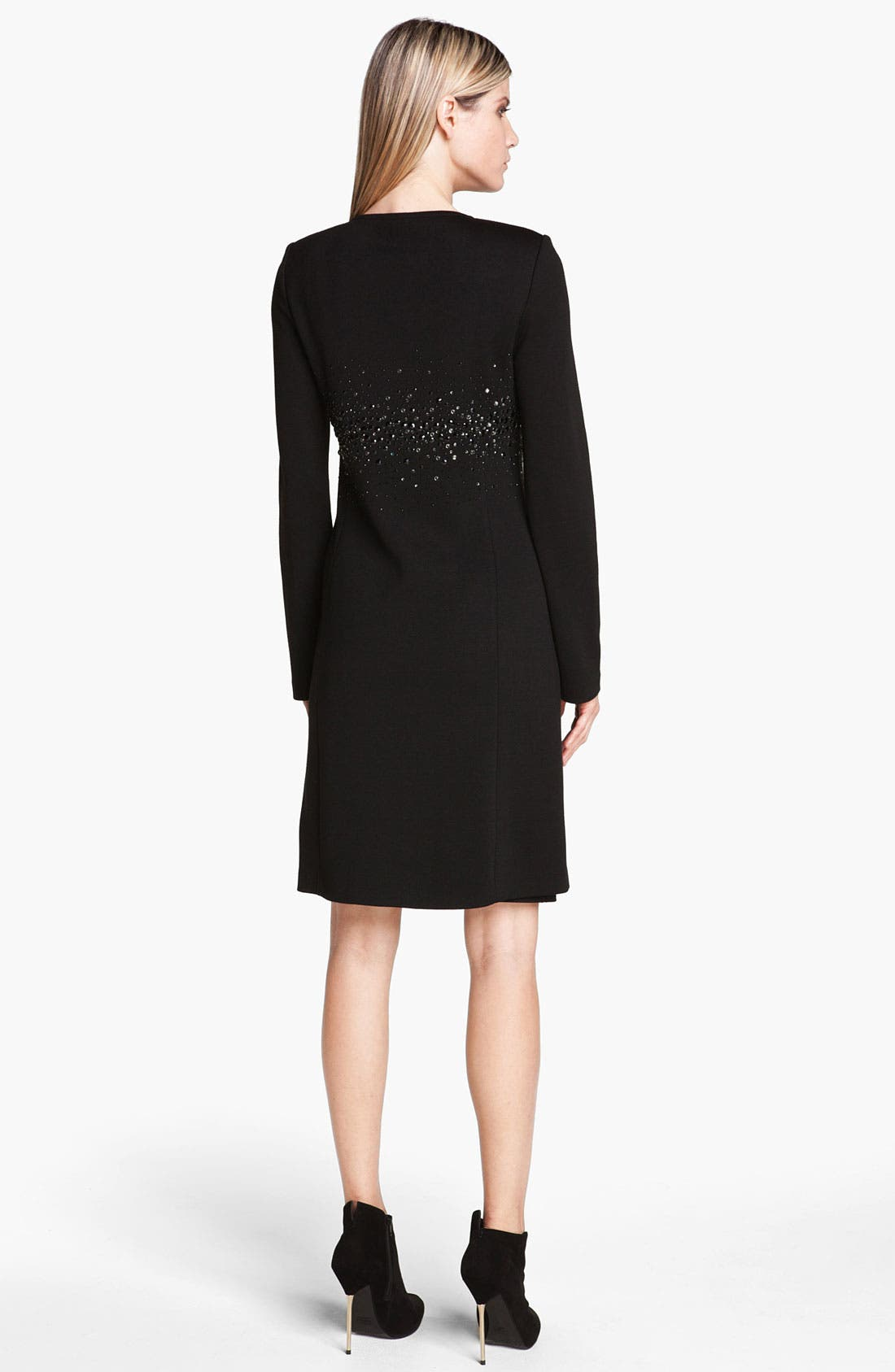 Alternate Image 3  - St. John Collection Sequin Detail Milano Knit Coat