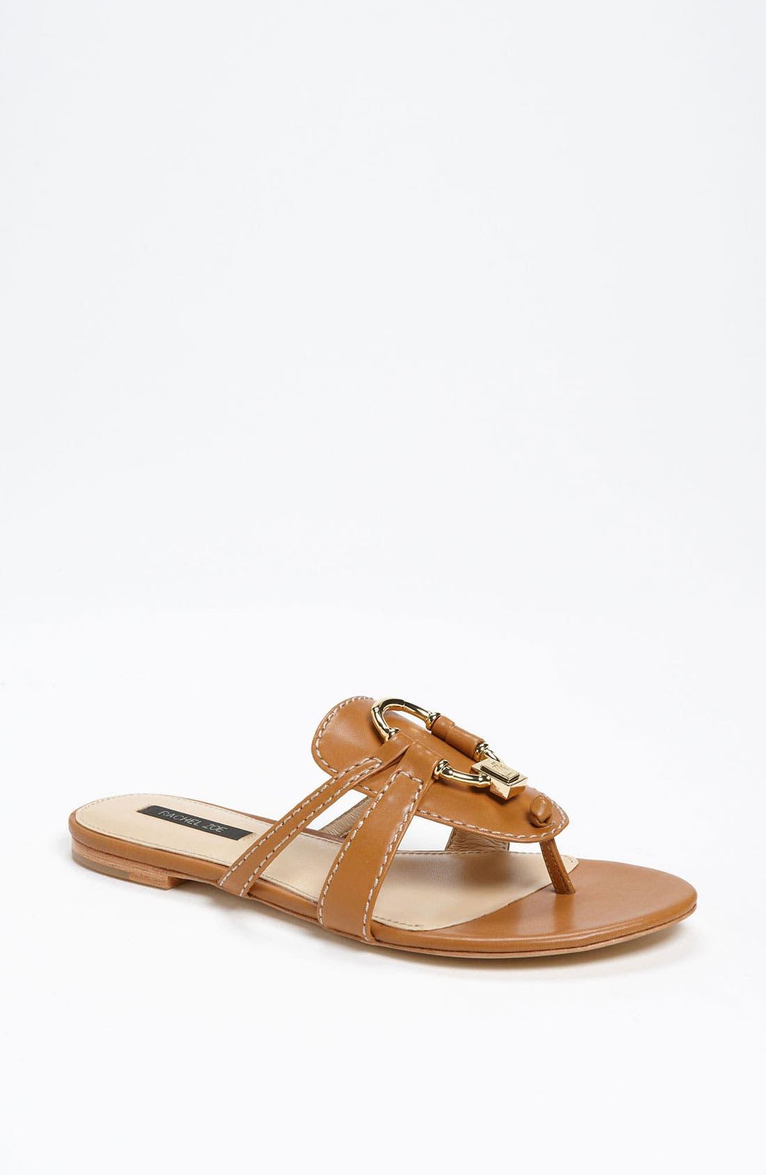 Alternate Image 1 Selected - Rachel Zoe 'Gina' Flat Sandal