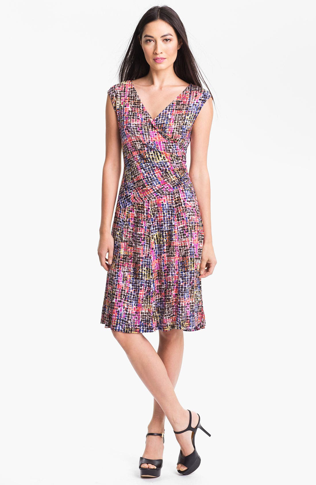 Alternate Image 1 Selected - Nic + Zoe 'Tiny Squares' Dress