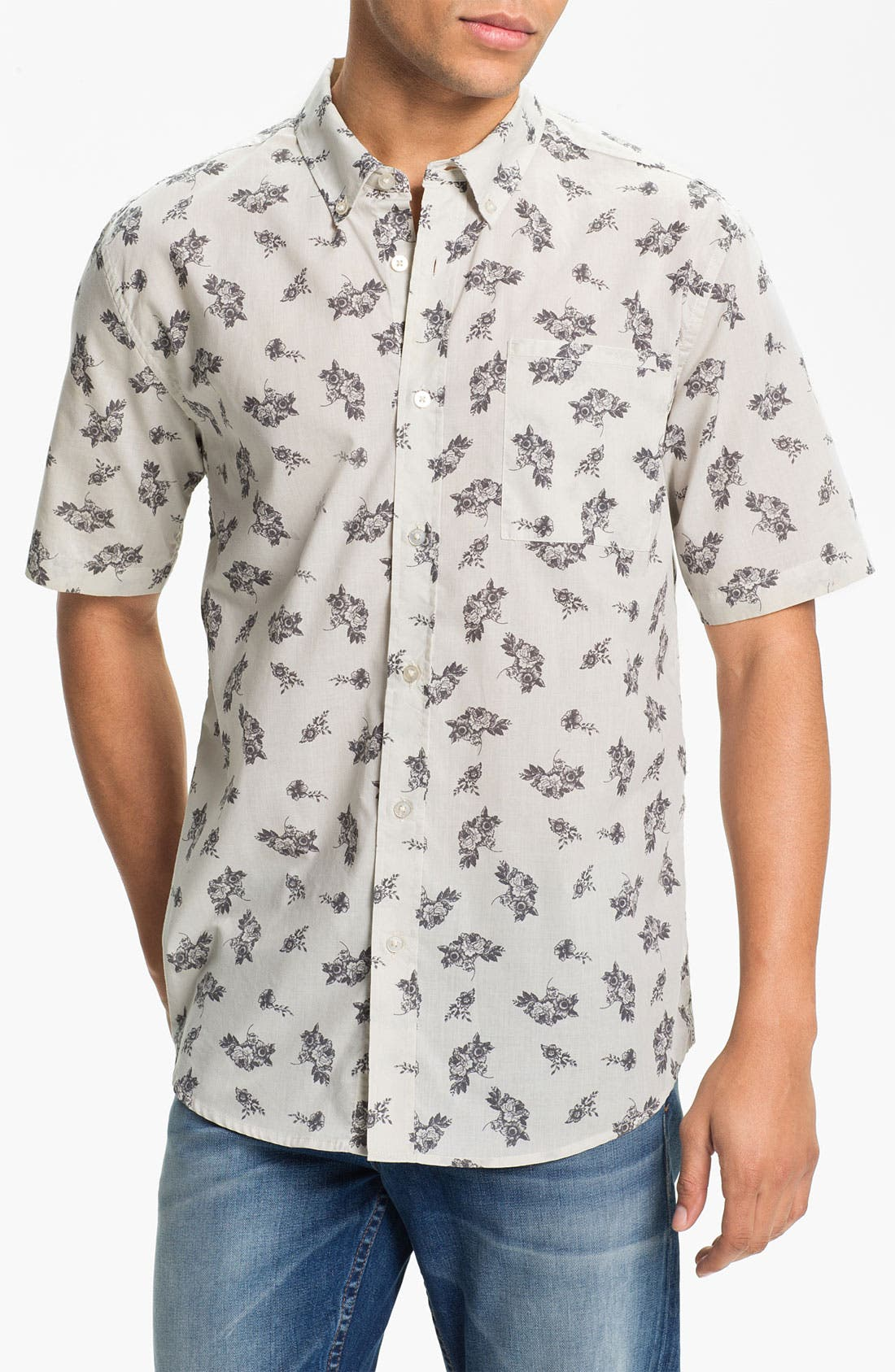 Alternate Image 1 Selected - Ezekiel 'Rooney' Short Sleeve Sport Shirt