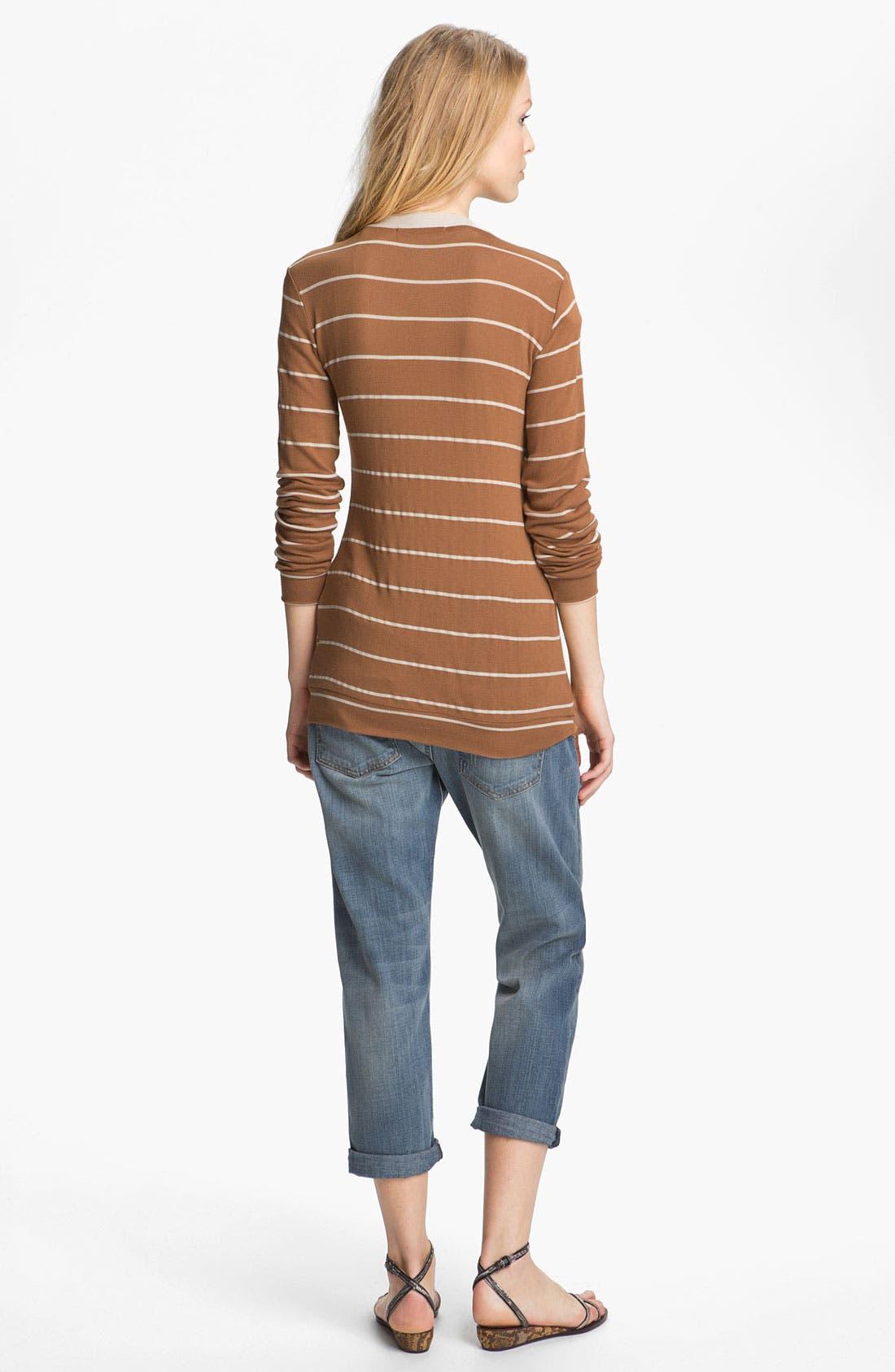Alternate Image 2  - Kain 'Joss' Stripe Boyfriend Cardigan