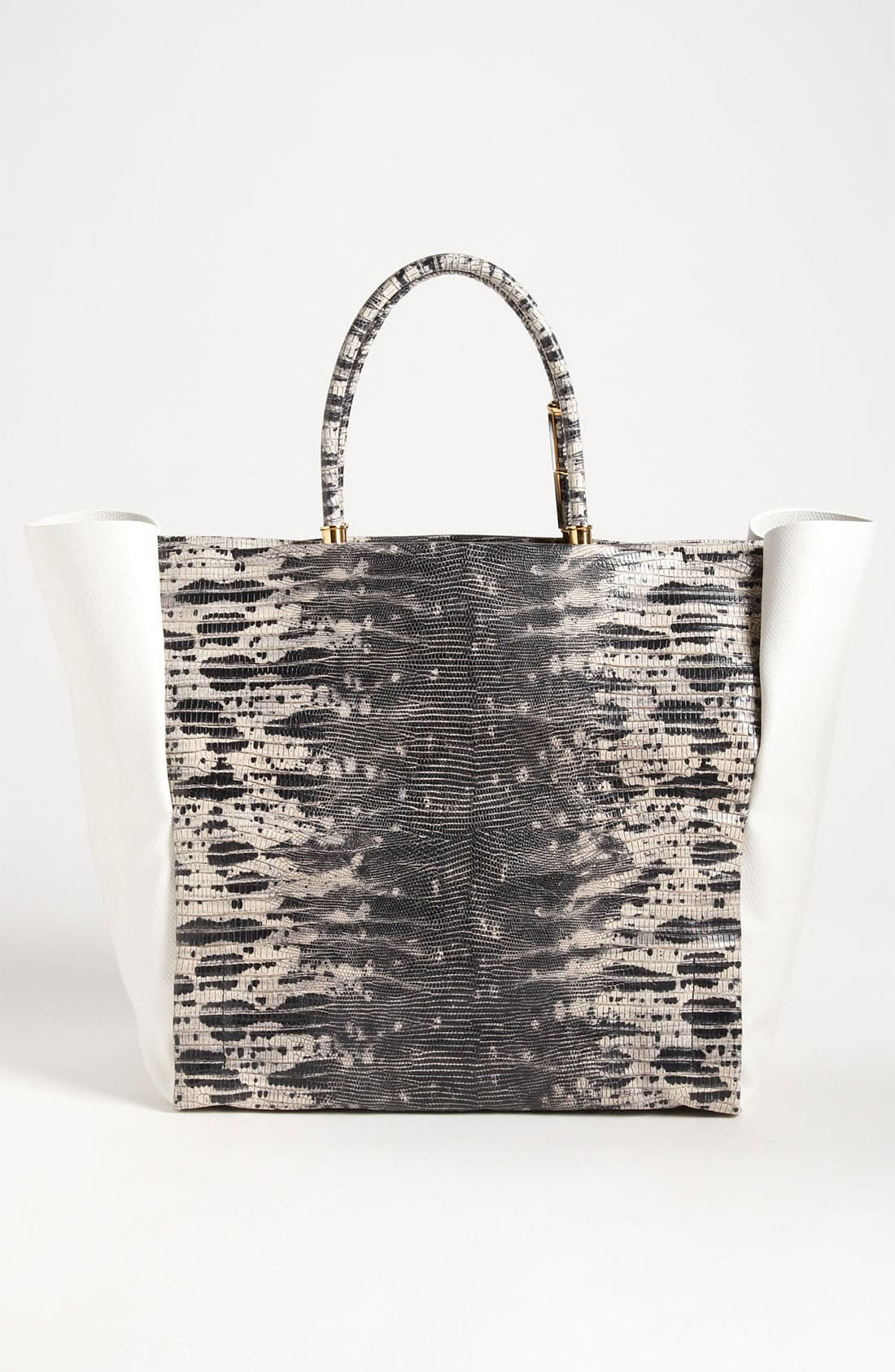 Alternate Image 4  - Lanvin 'Moon River' Leather Tote