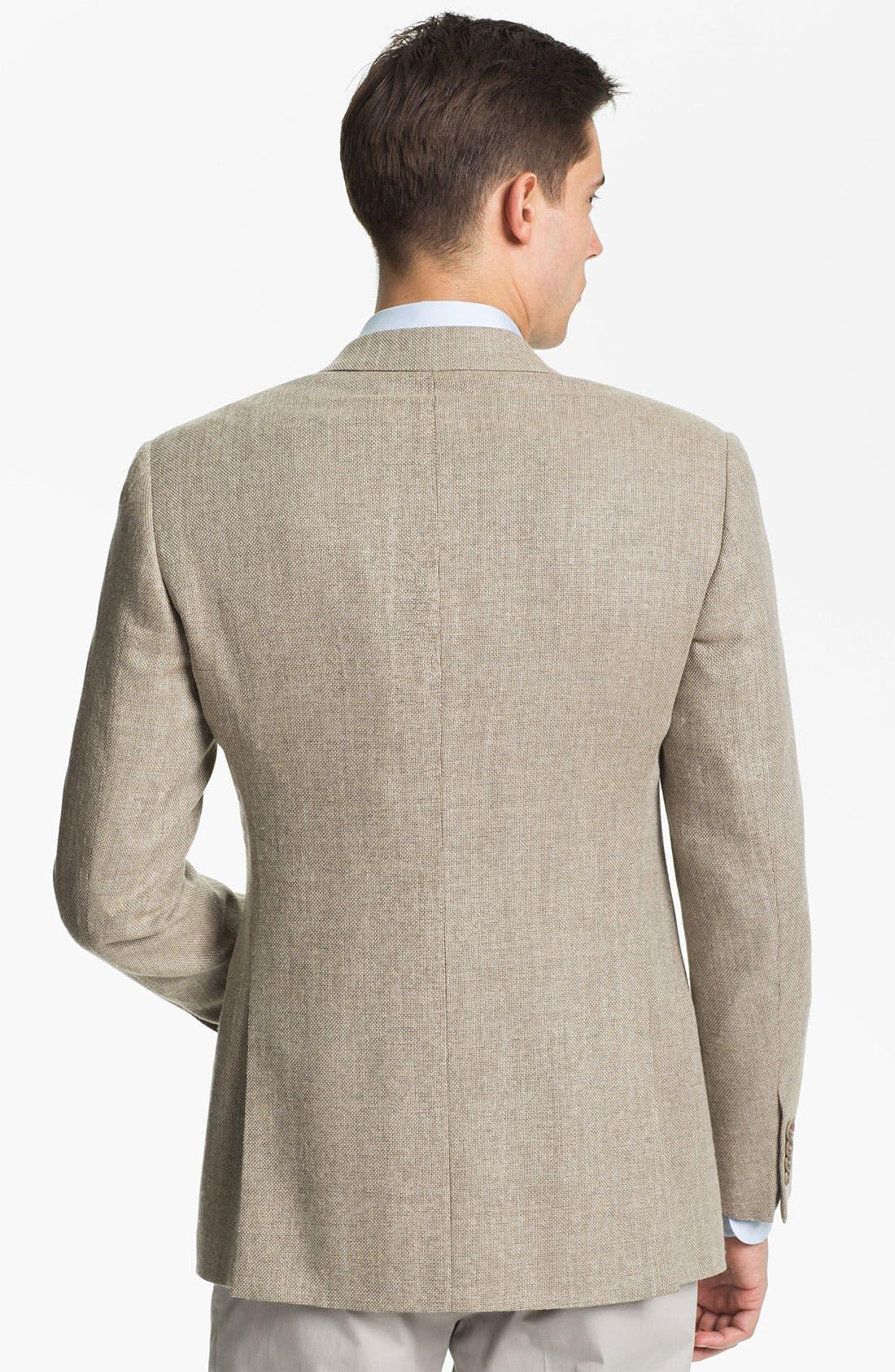 Alternate Image 2  - Armani Collezioni 'Giorgio' Textured Wool Sportcoat