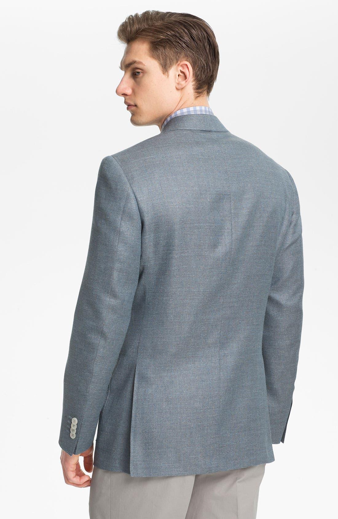 Alternate Image 3  - Canali 'Kei' Wool Blend Blazer