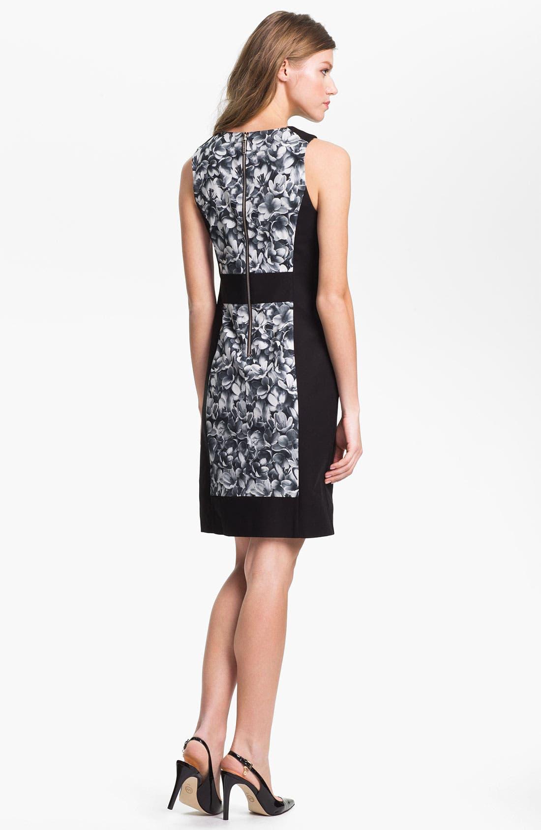 Alternate Image 2  - MICHAEL Michael Kors Sleeveless Colorblock Dress