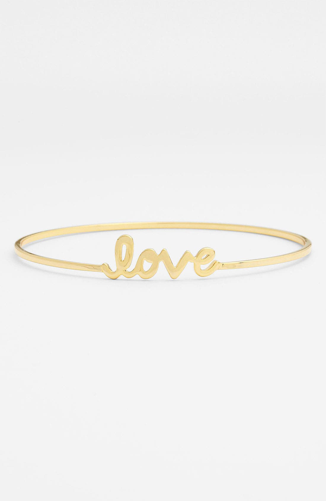 Alternate Image 1 Selected - Ariella Collection 'Messages - Love' Script Station Bangle