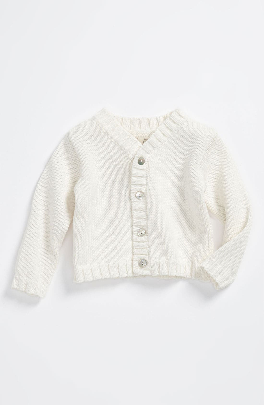 Alternate Image 1 Selected - Peek 'Little Peanut - Andre' Cardigan (Baby)