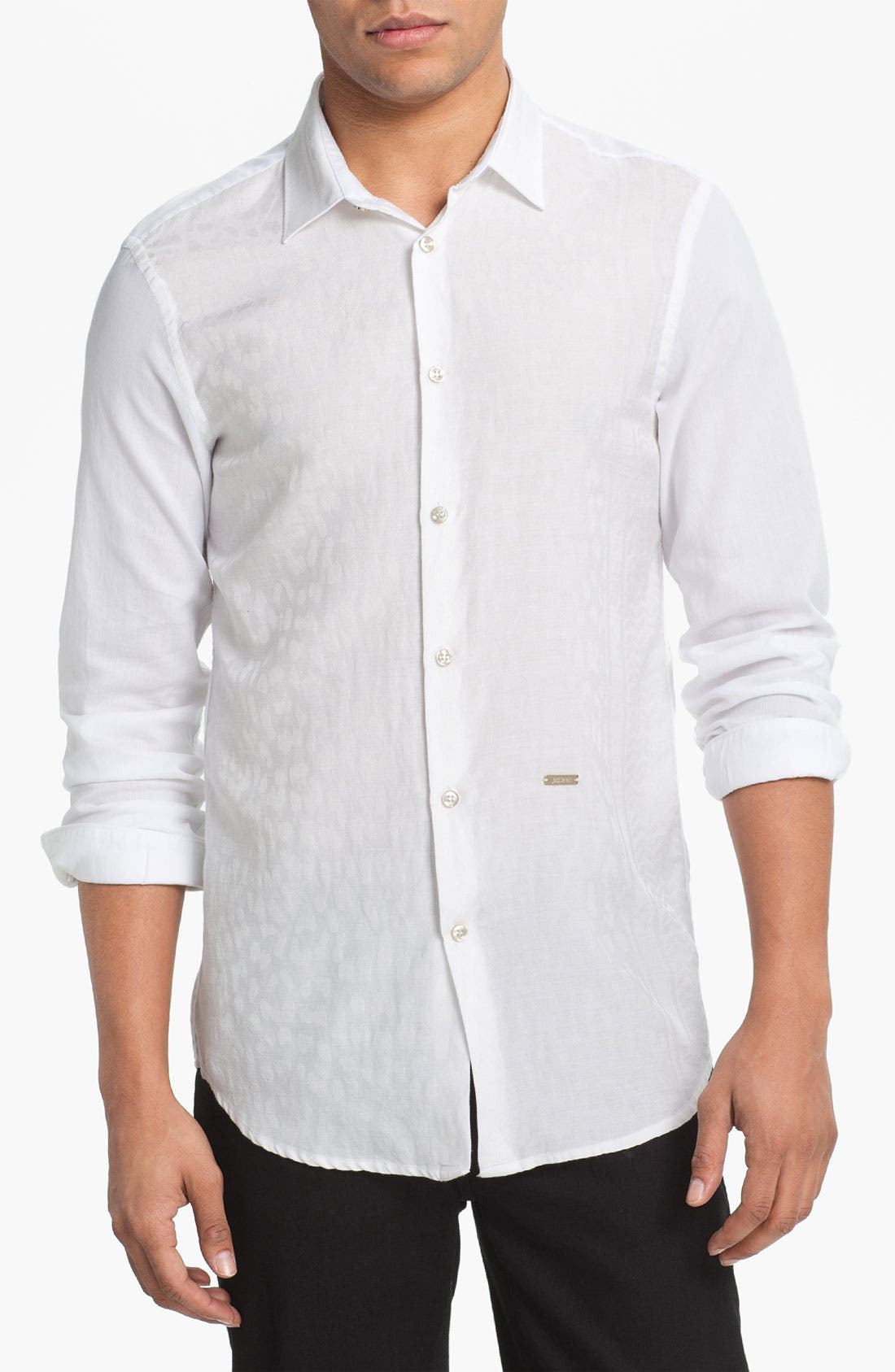 Alternate Image 1 Selected - Just Cavalli Woven Shirt