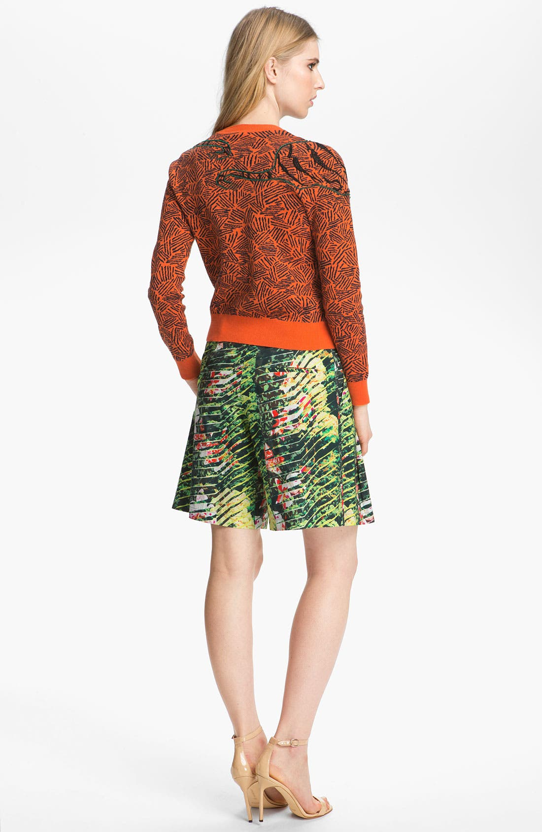 Alternate Image 4  - KENZO Bead Embroidered Tiger Sweater