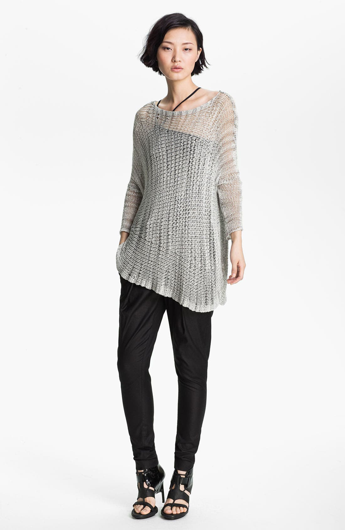 Alternate Image 1 Selected - Helmut Lang Marled Asymmetrical Pullover