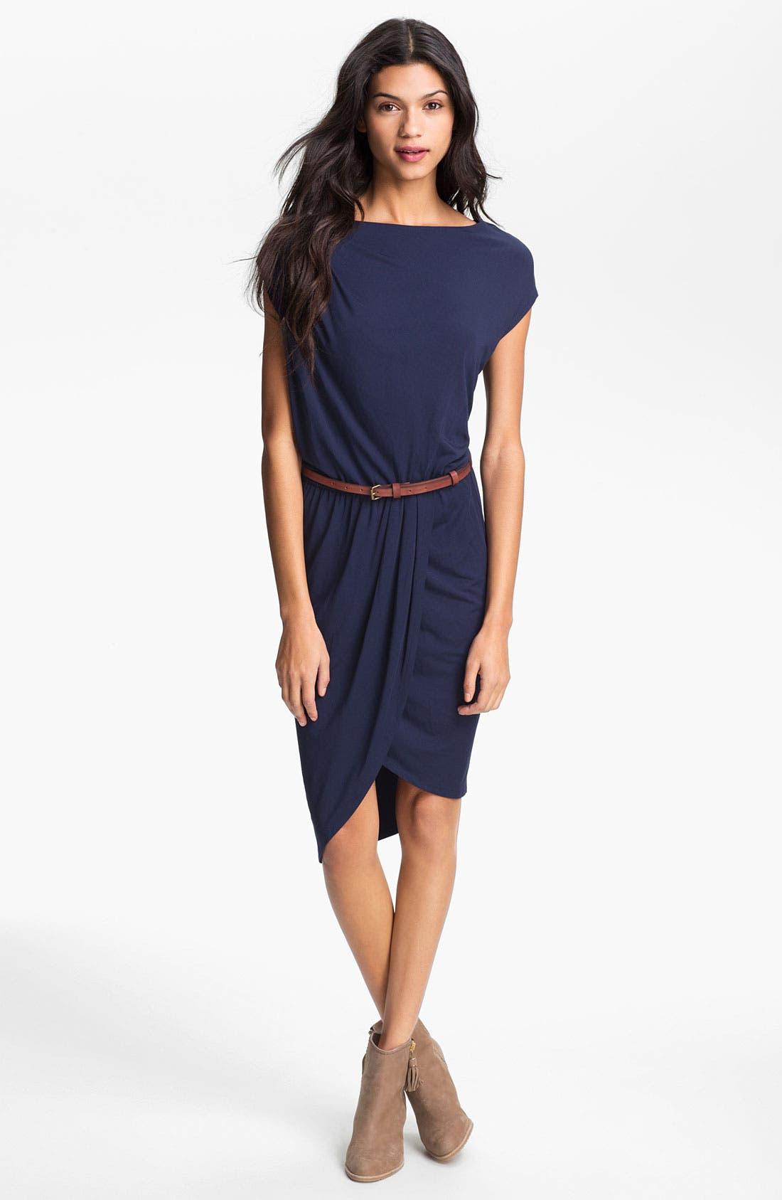Alternate Image 1 Selected - Tart 'Marine' Draped Jersey Dress