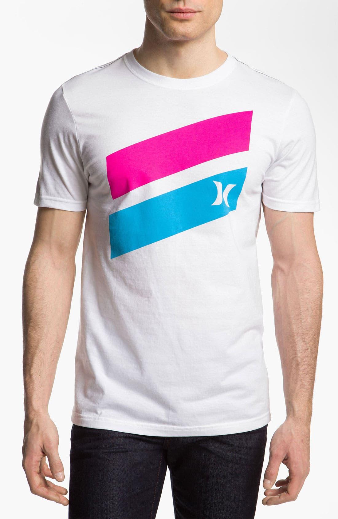 Alternate Image 1 Selected - Hurley 'Icon Slash' T-Shirt