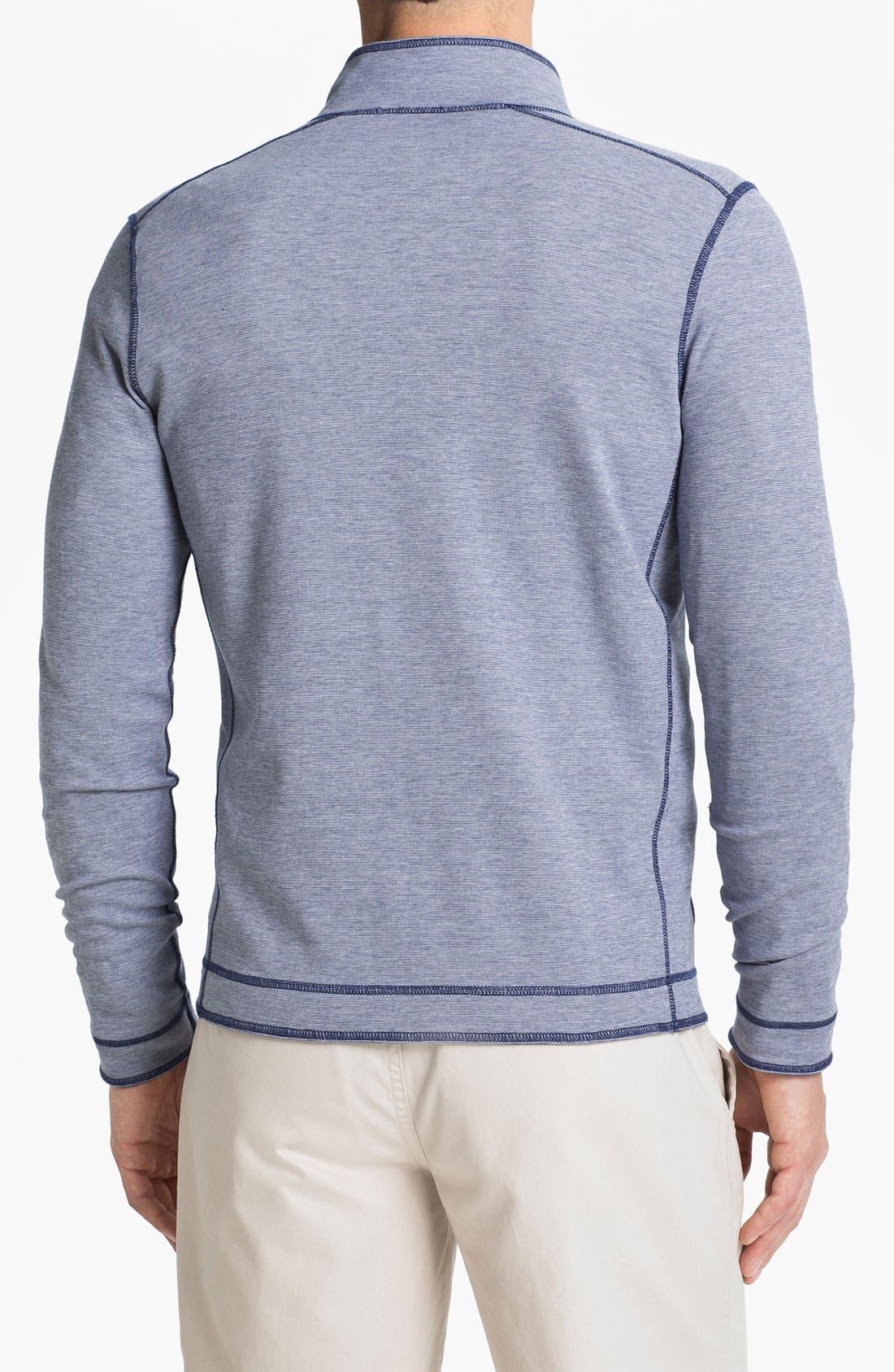 Alternate Image 2  - BOSS Black 'Cannobio' Full Zip Knit Jacket