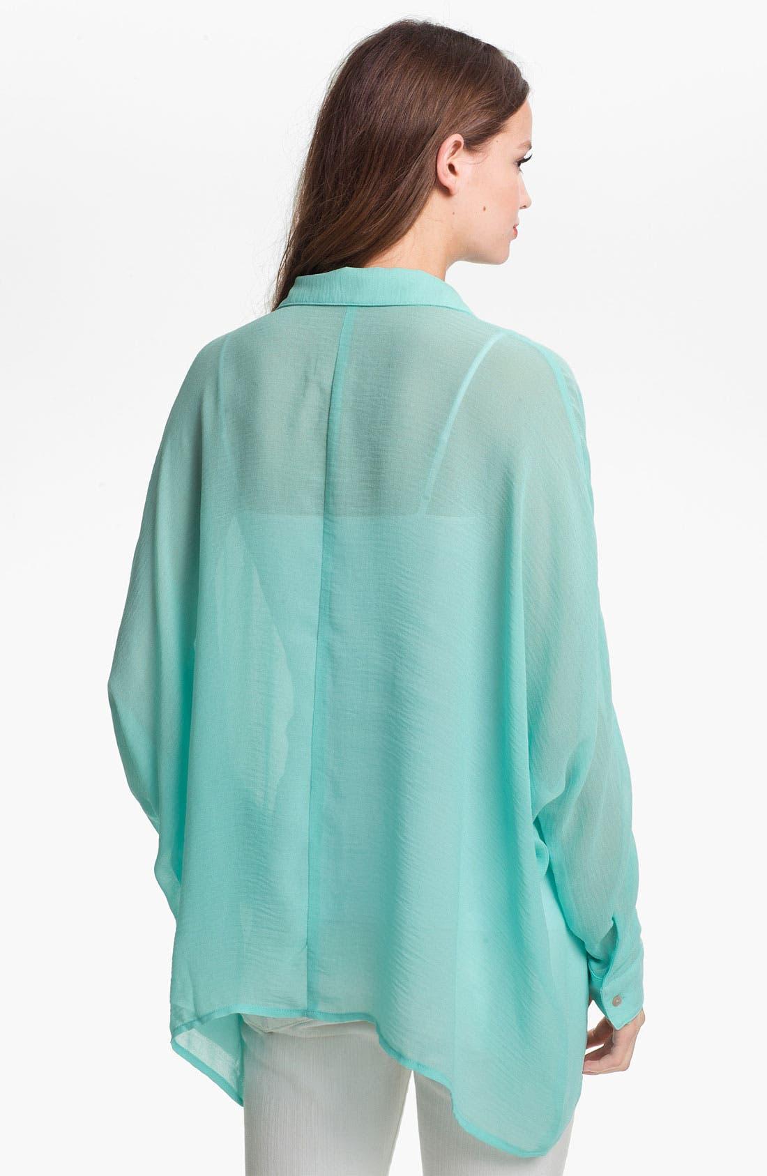 Alternate Image 2  - KUT from the Kloth Asymmetrical Shirt