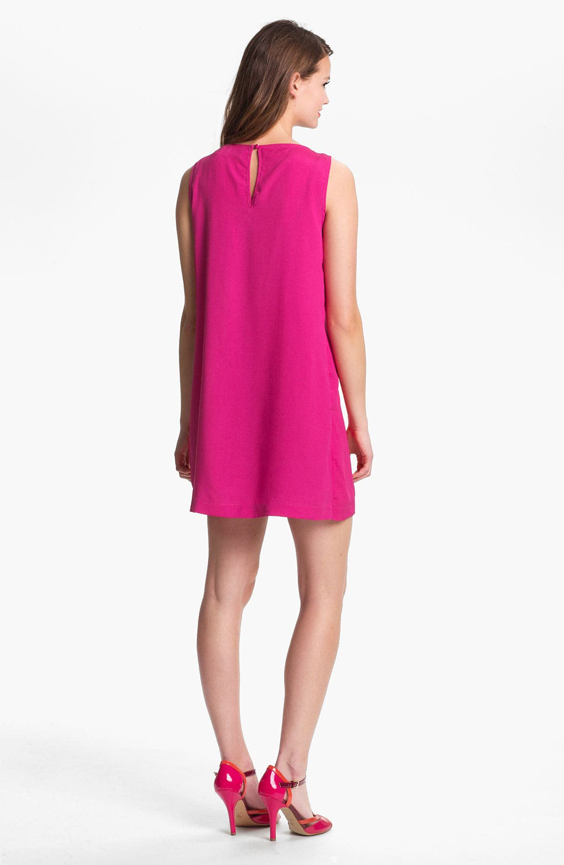 Alternate Image 2  - Press A-Line Crepe Shift Dress