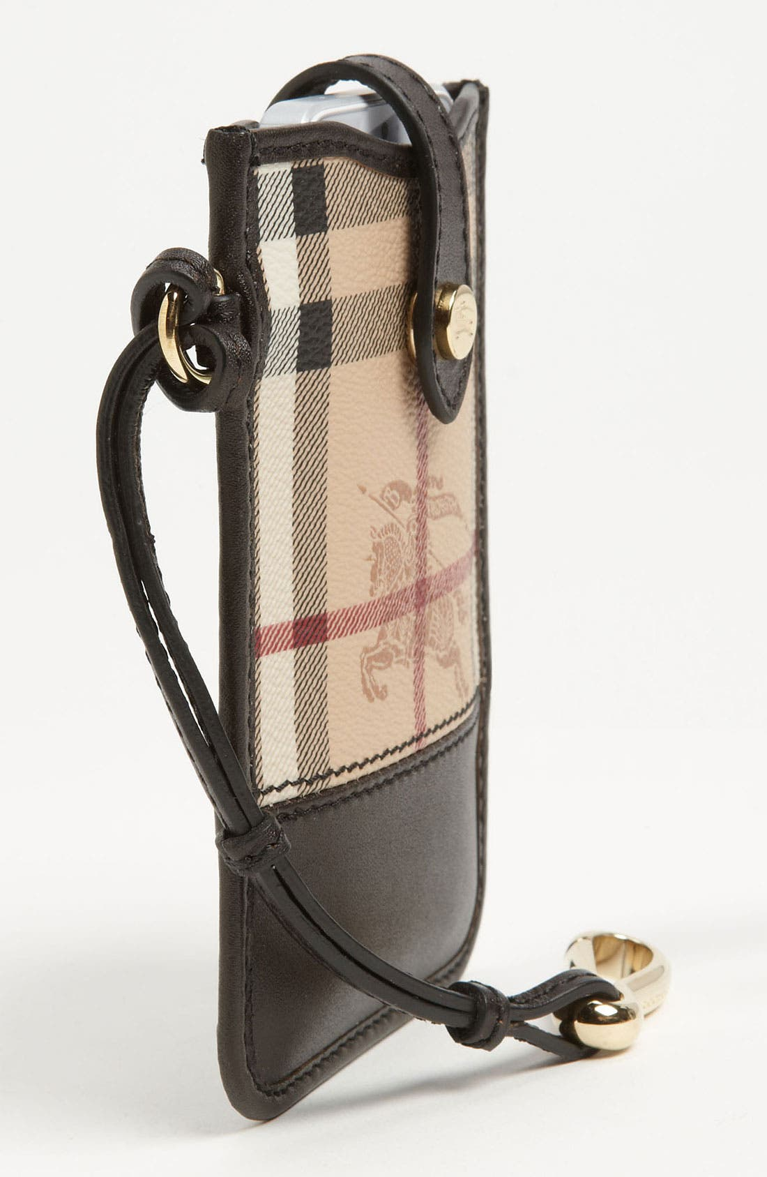 Alternate Image 2  - Burberry 'Haymarket Check' iPhone Wallet
