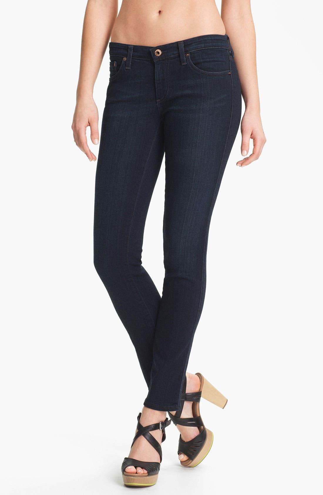 Alternate Image 1 Selected - AG Jeans 'Stilt' Cigarette Leg Stretch Jeans (Jetsetter)