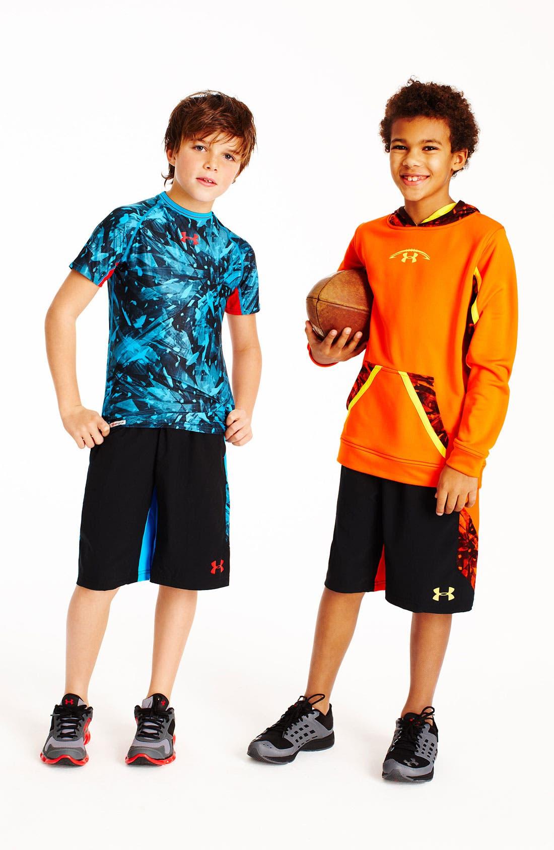 Alternate Image 3  - Under Armour 'NFL Combine' Shorts (Big Boys)