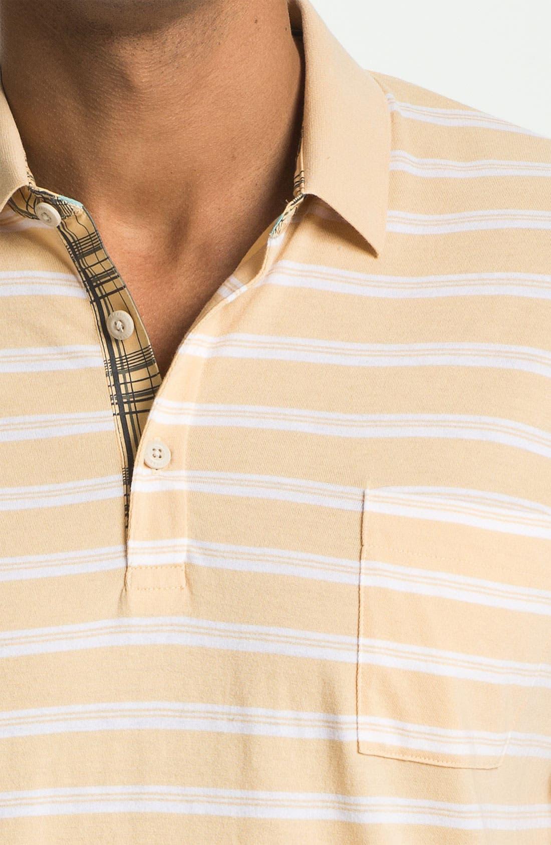 Alternate Image 3  - Cutter & Buck 'Woodlawn Stripe' Polo (Big & Tall)