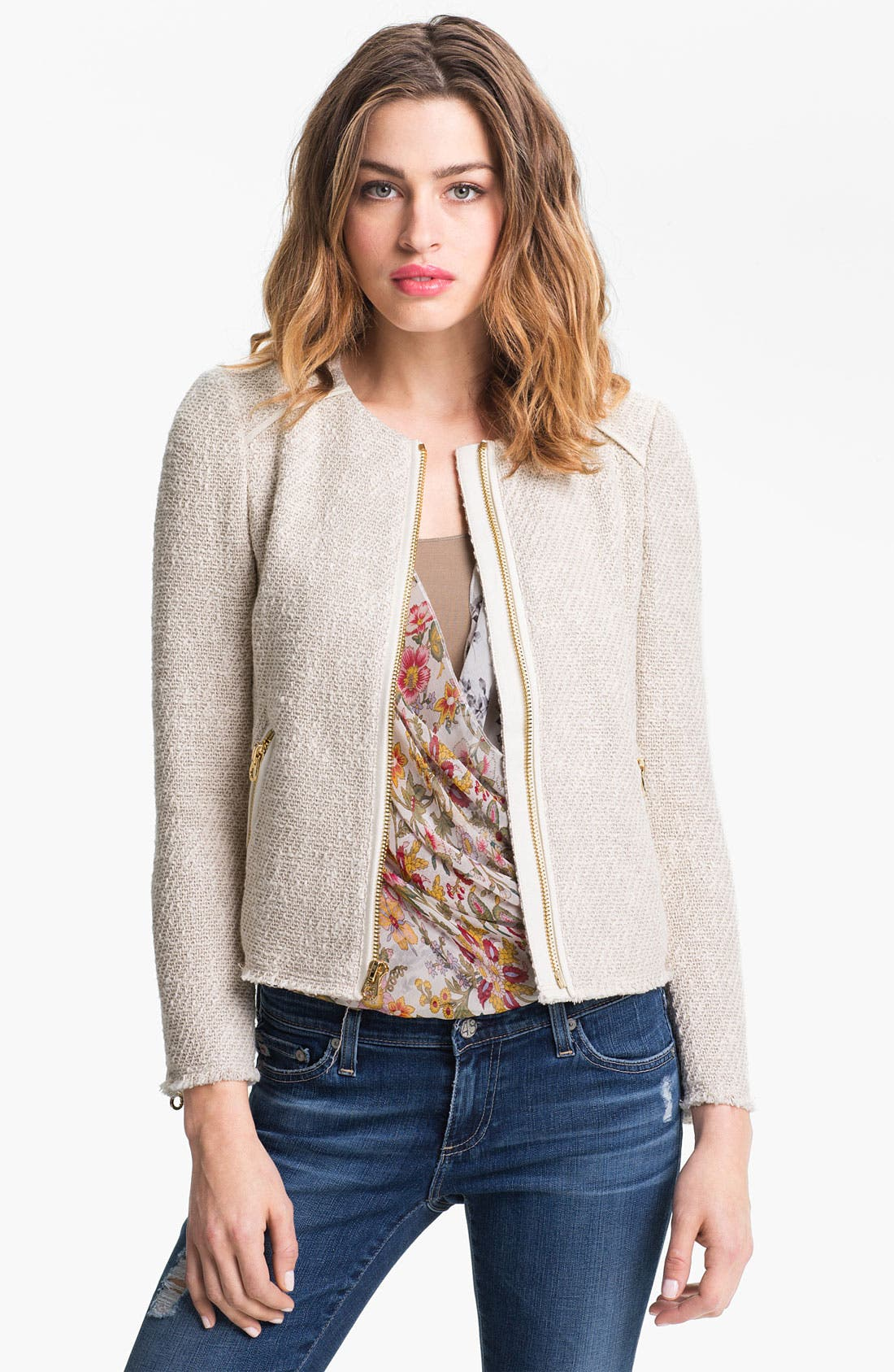 Alternate Image 1 Selected - Juicy Couture Bouclé Jacket