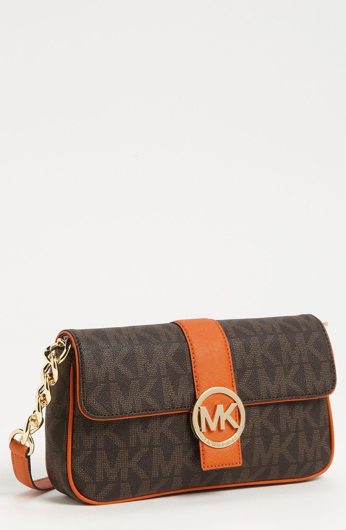 Main Image - MICHAEL Michael Kors 'Fulton Signature - Small' Shoulder Bag