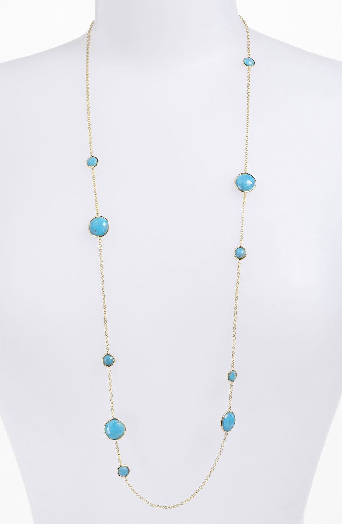 Alternate Image 1 Selected - Ippolita 'Lollipop' Long 10-Station 18k Gold Necklace