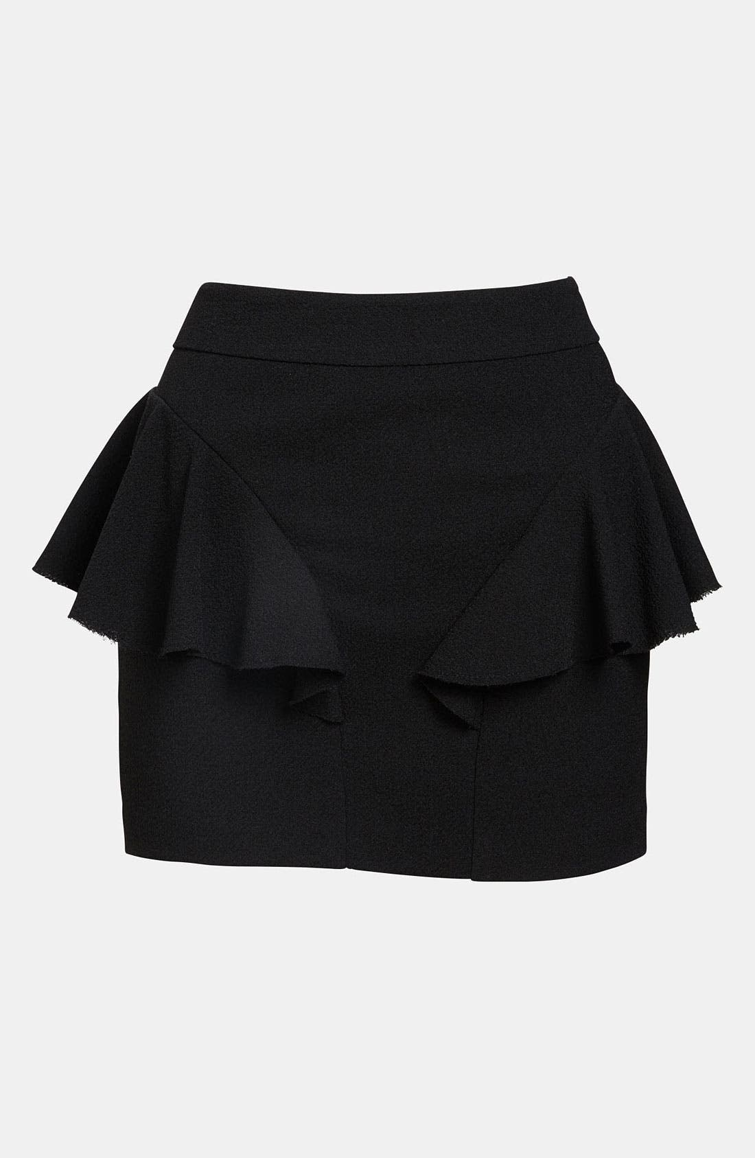 Alternate Image 1 Selected - Tildon Side Ruffle Skirt