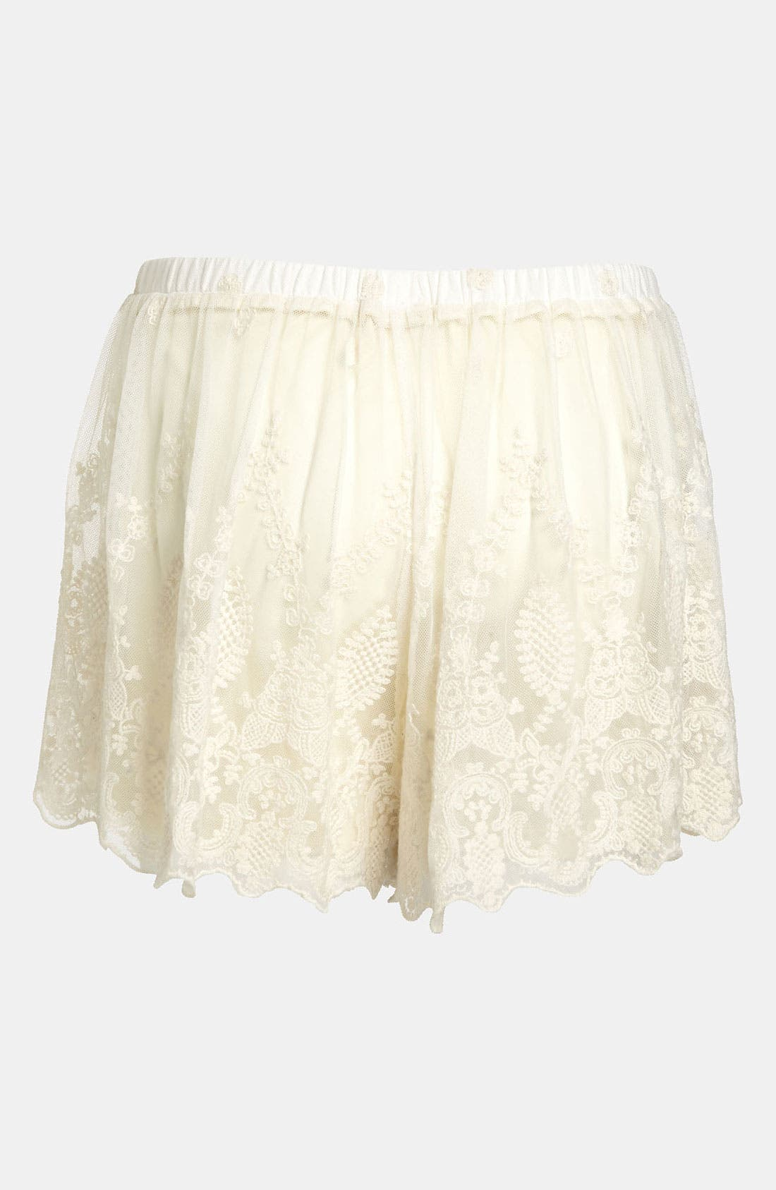 Alternate Image 2  - ASTR Lace Shorts
