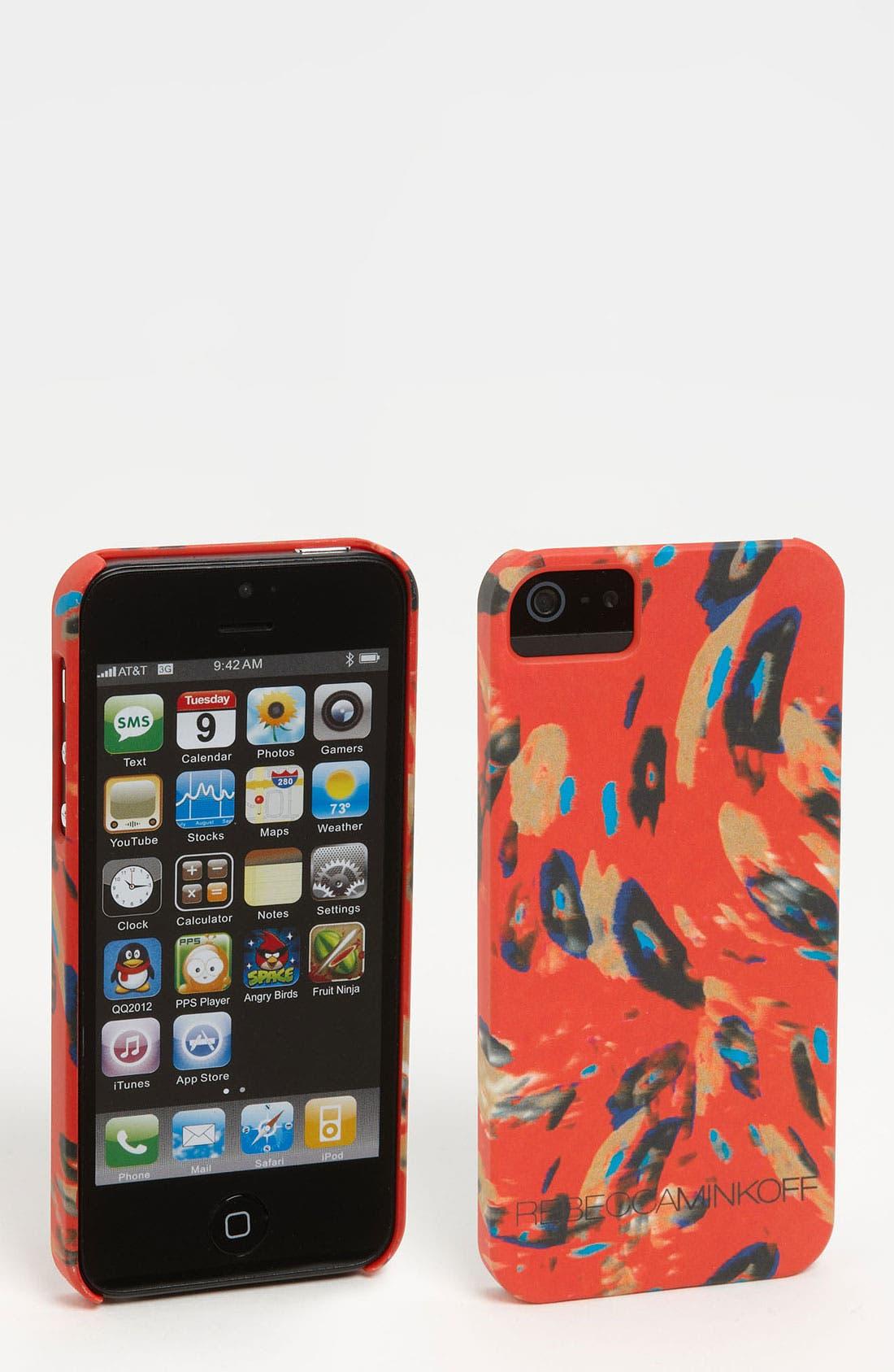 Alternate Image 1 Selected - Rebecca Minkoff 'Runway Print' iPhone 5 Case
